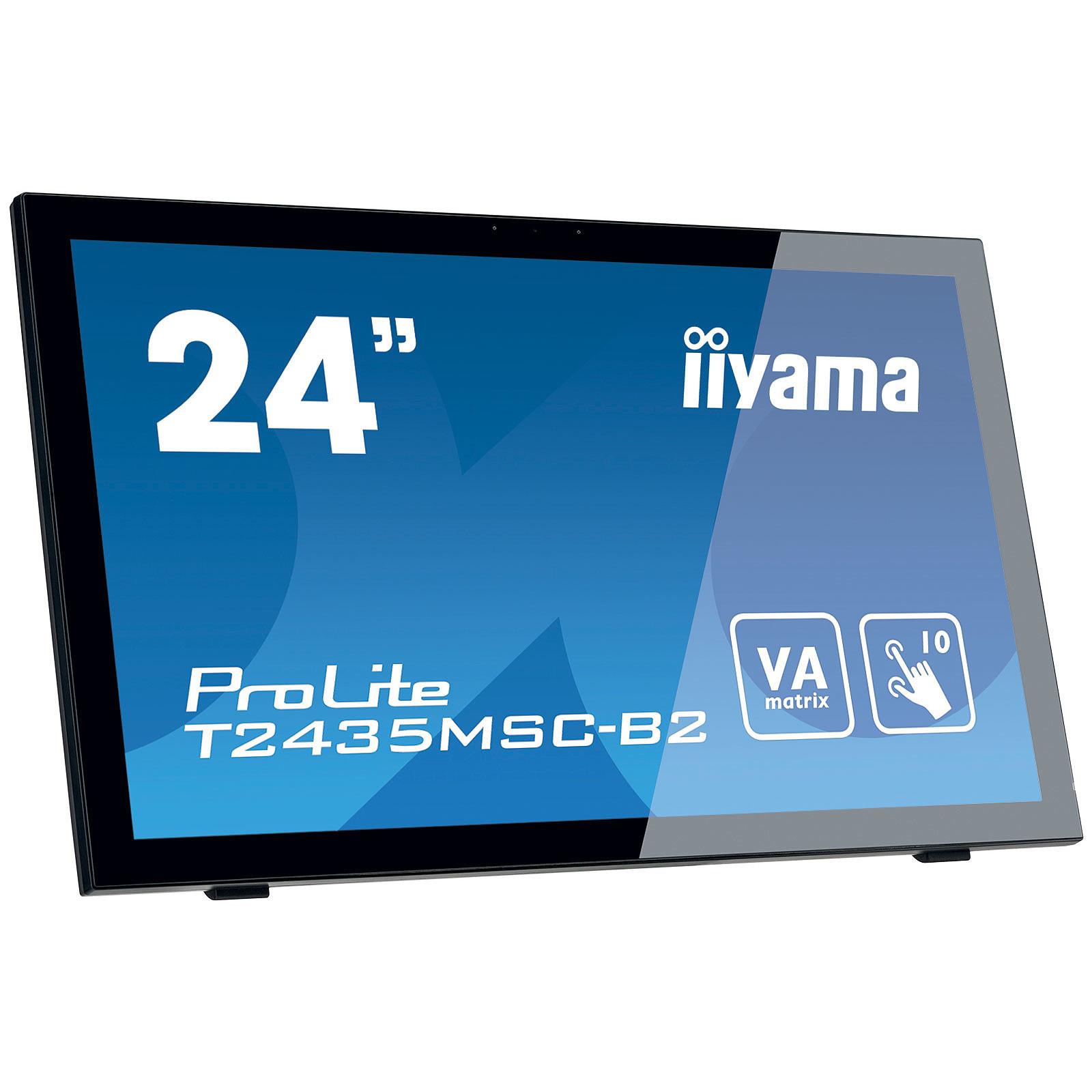 "iiyama 23.6"" LED Tactile - ProLite T2435MSC-B2"
