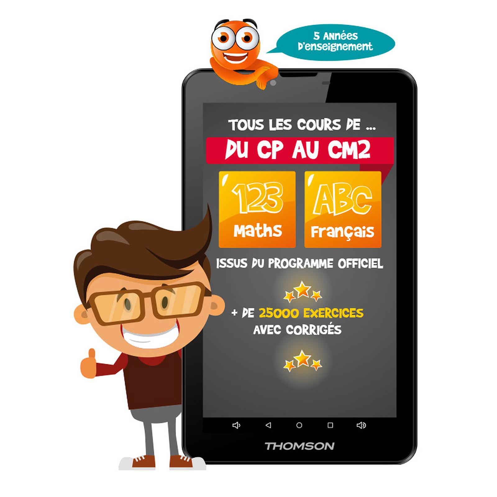 Thomson TEO-QD7BK8E - Tablette tactile Thomson sur LDLC com