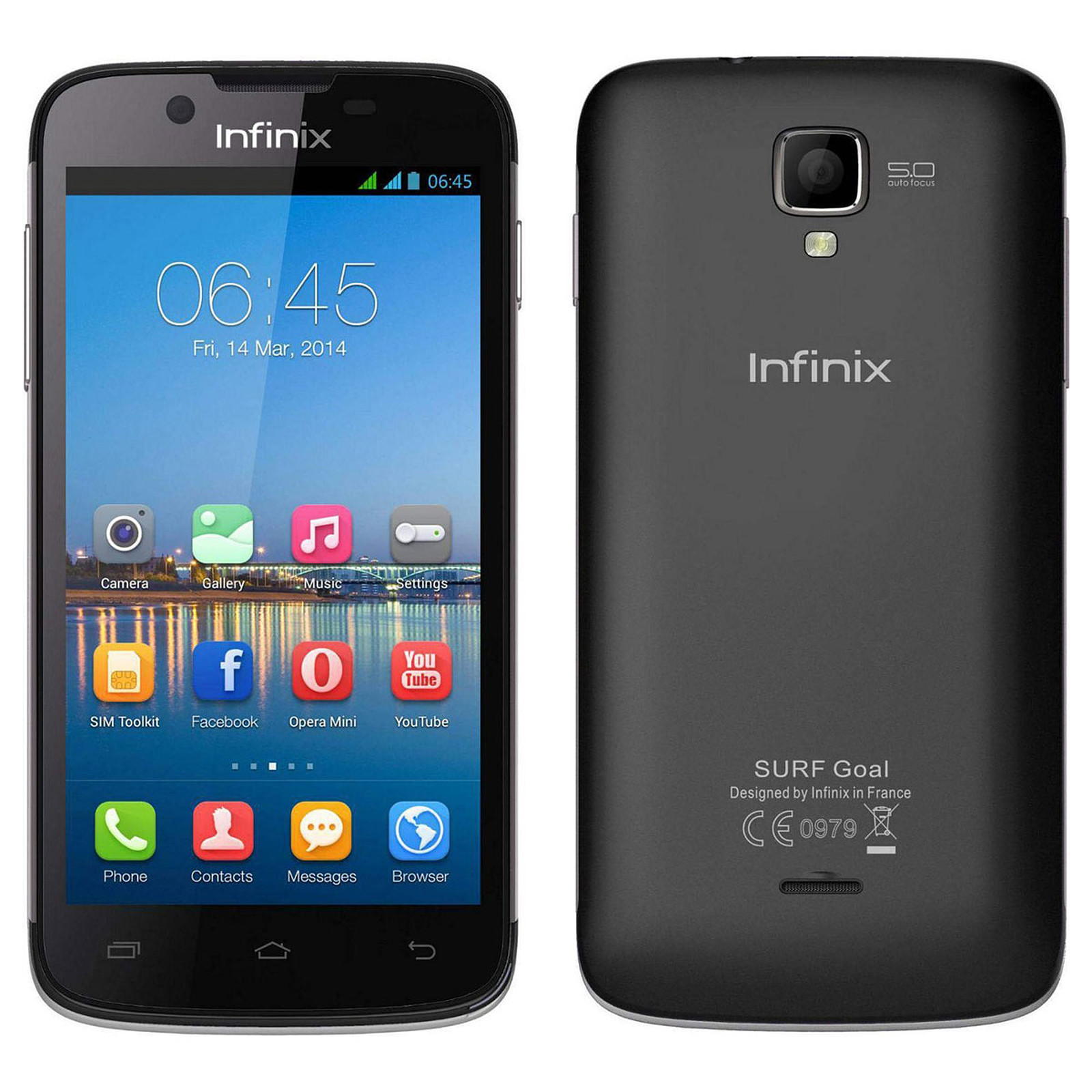 Infinix Surf X452 Noir