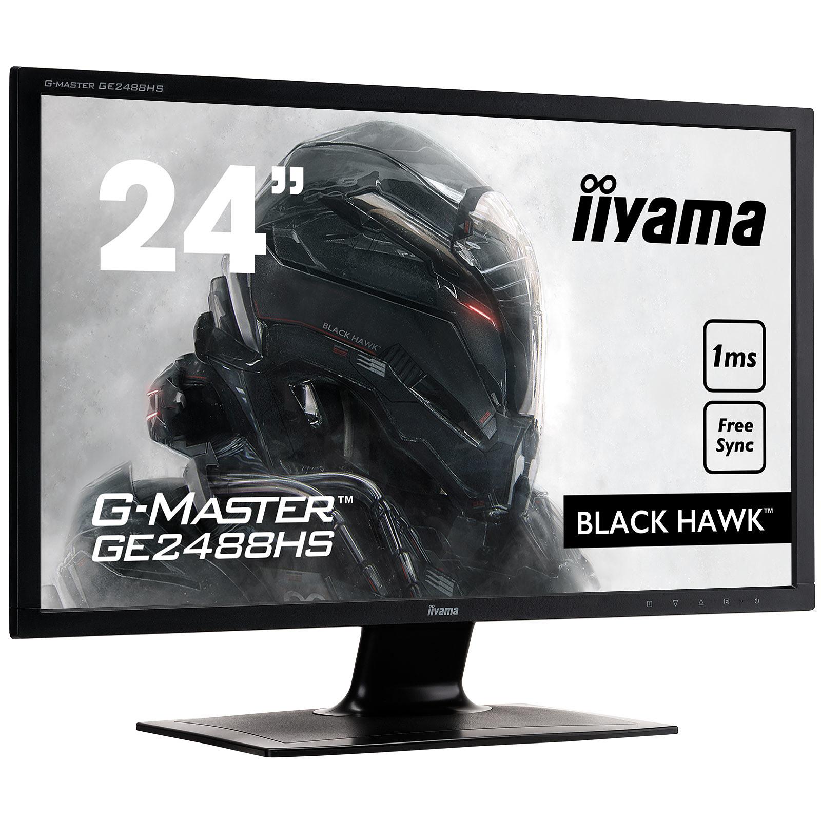 "iiyama 24"" LED - G-MASTER GE2488HS-B2 Black Hawk"