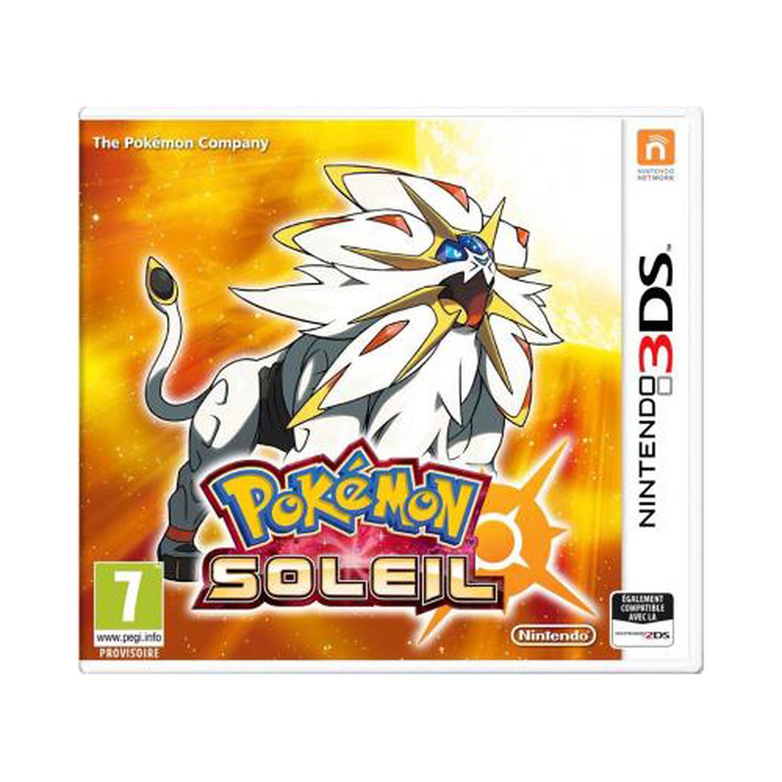 Pokemon Soleil (Nintendo 3DS/2DS) - Jeux Nintendo 3DS Nintendo sur LDLC