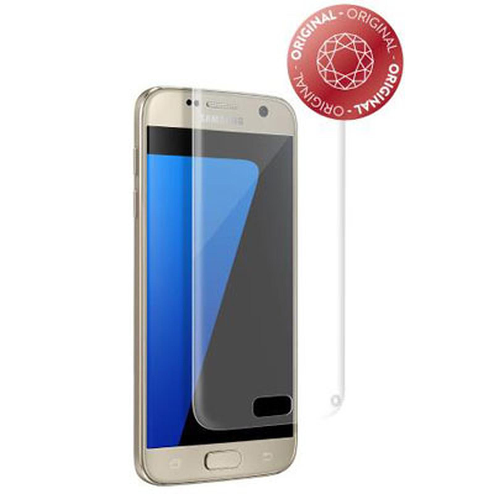 33e519821b Force Glass Verre Trempé Galaxy S7 - Film protecteur téléphone Force ...