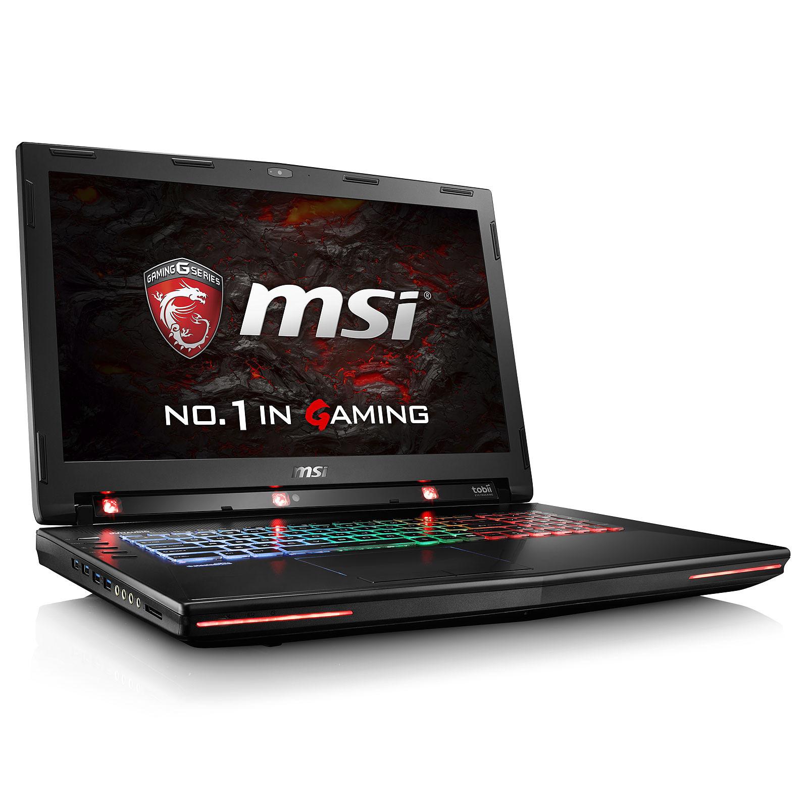MSI GT72VR 6RD-061FR Dominator Pro Tobii
