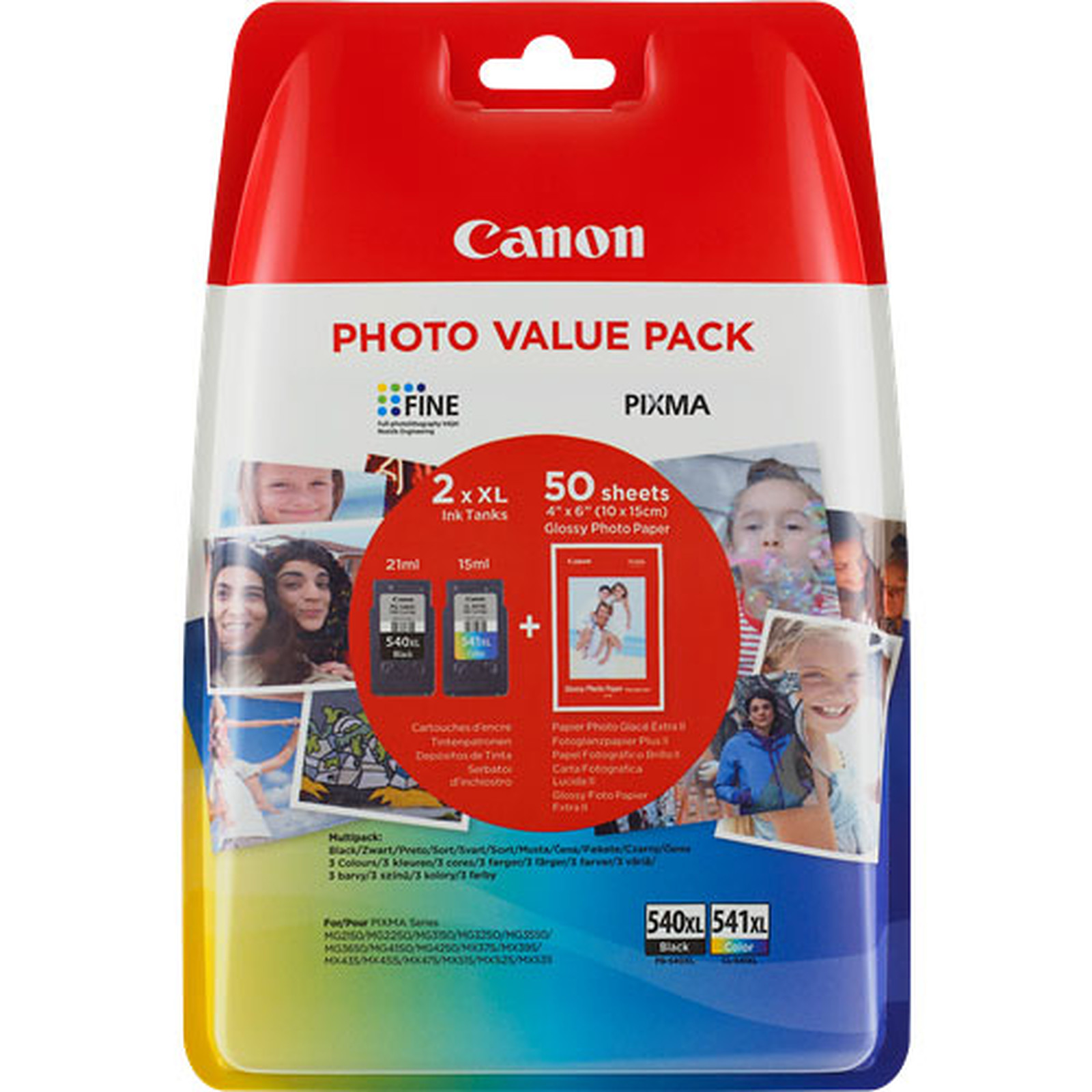 Canon PG-540/CL-541 XL Photo Value Pack