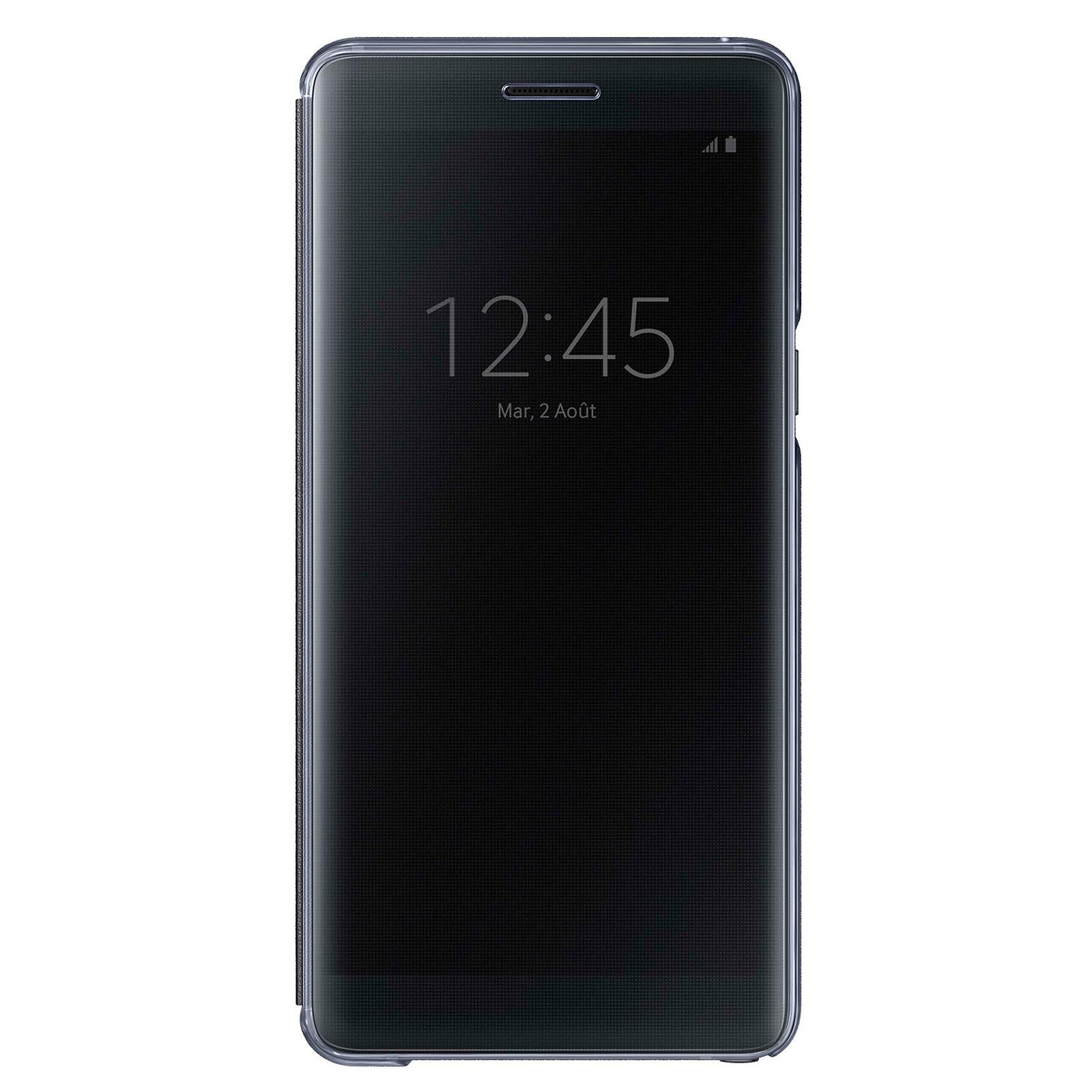 Samsung Clear View Cover Noir Samsung Galaxy Note7