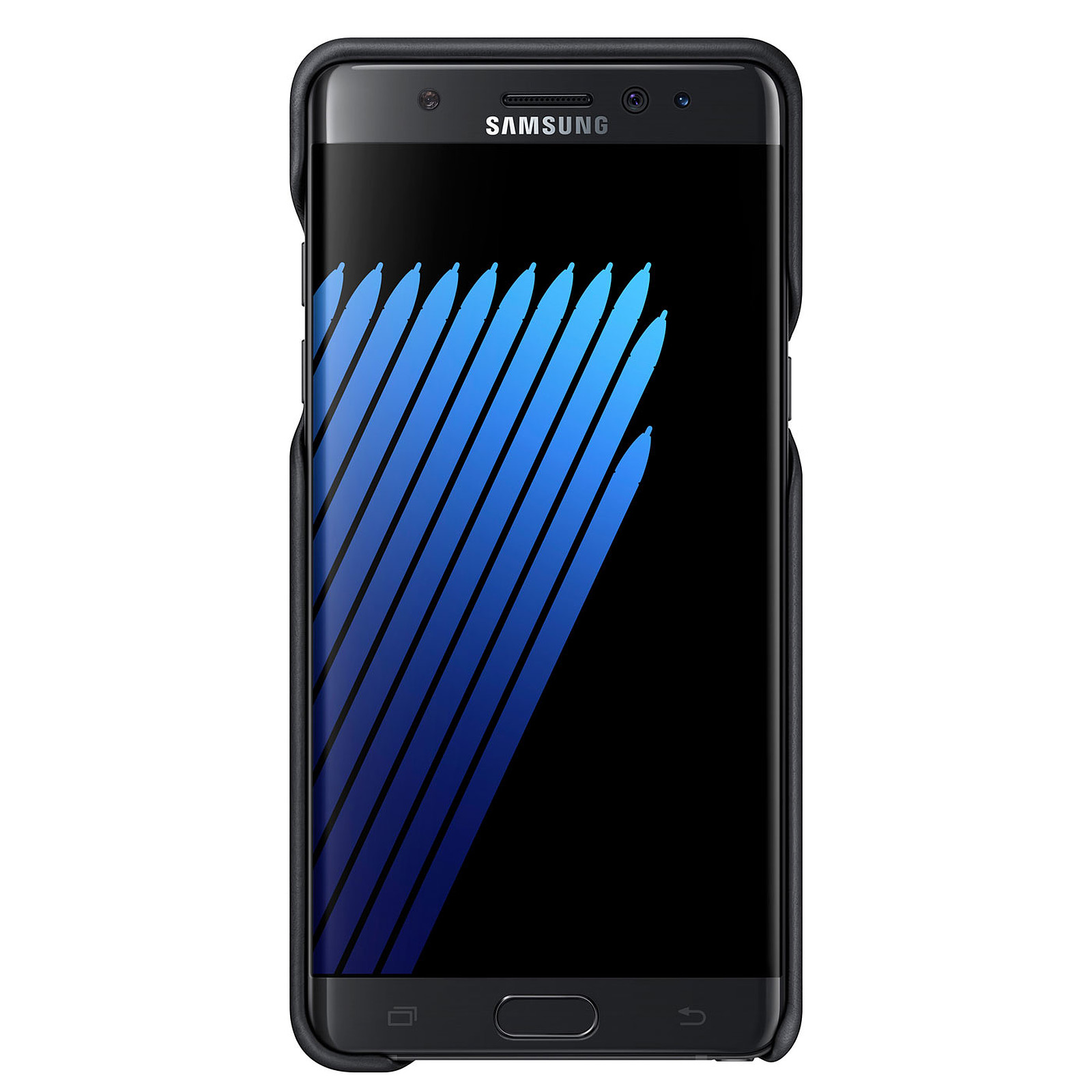 Samsung Leather Cover Noir Samsung Galaxy Note7