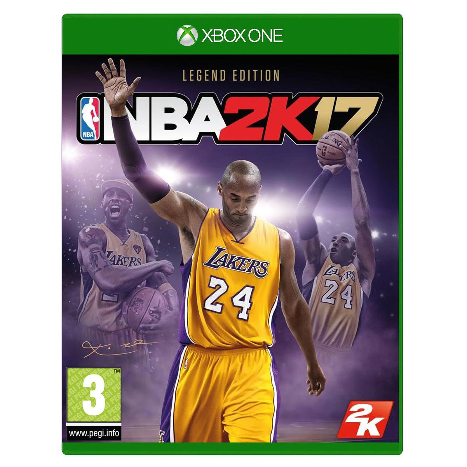 NBA 2K17 Legend Edition (Xbox One) Jeux Xbox One Take
