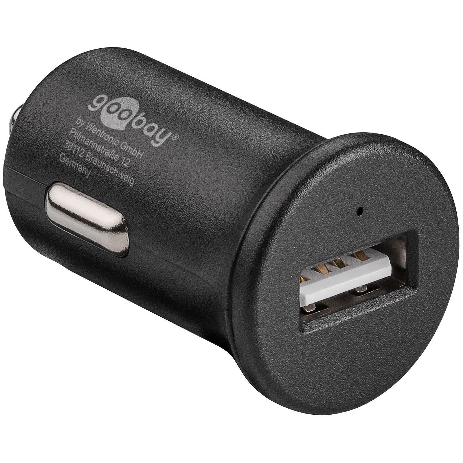 Chargeur rapide USB 2.4A sur prise allume-