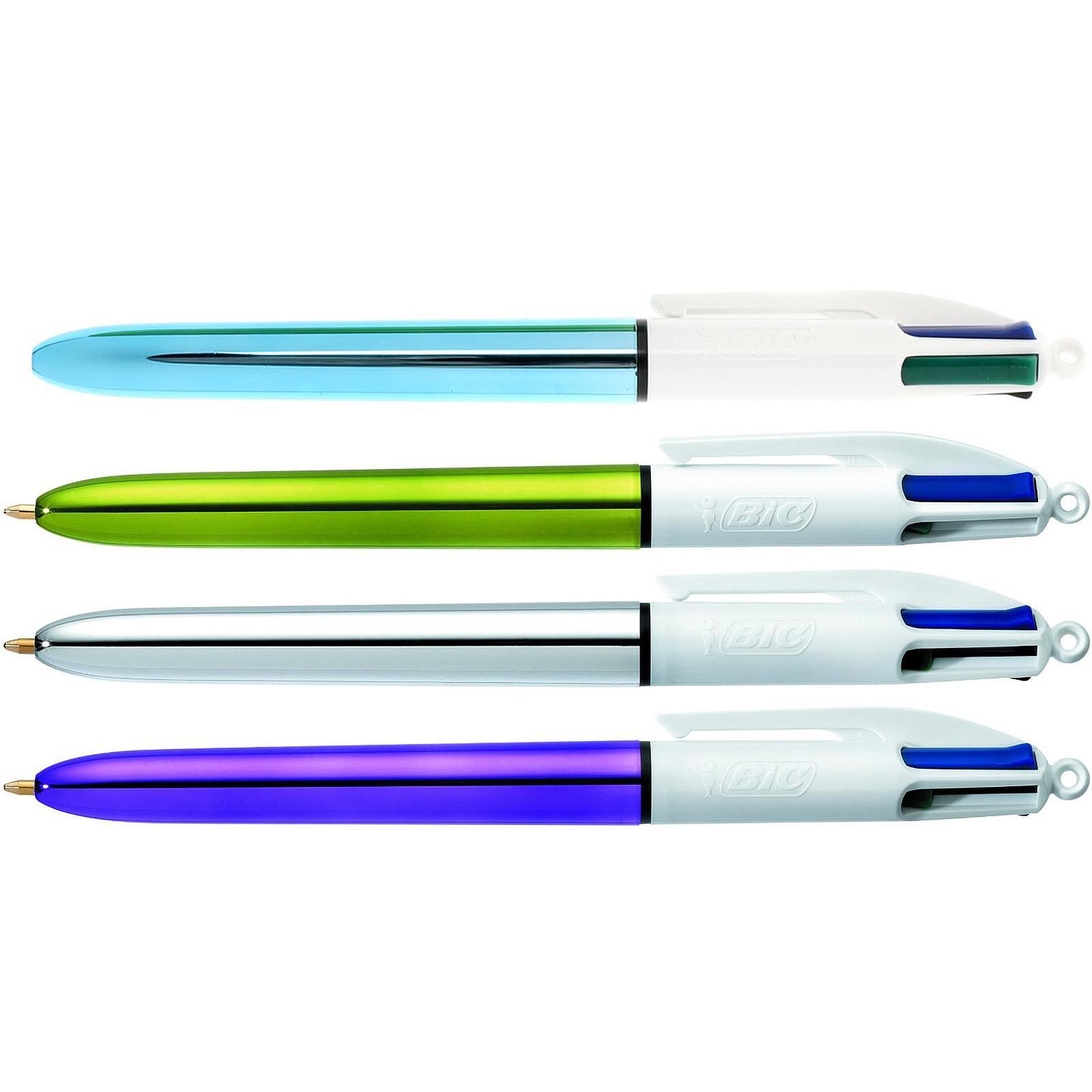 BIC 4 couleurs Shine x 12