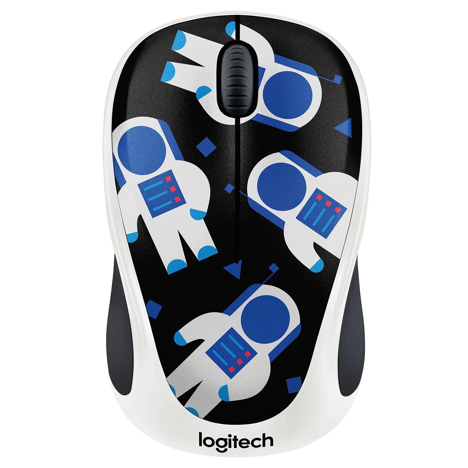 Logitech M238 Wireless Mouse (Cosmonaute)