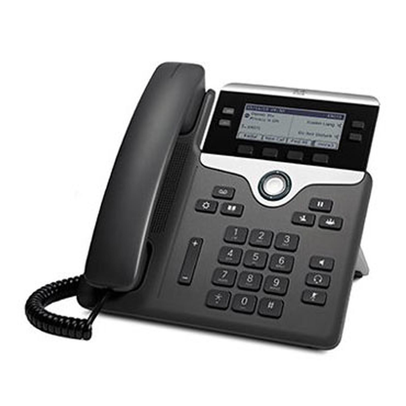 Cisco IP Phone 7841 avec micrologiciel de téléphone multiplateforme