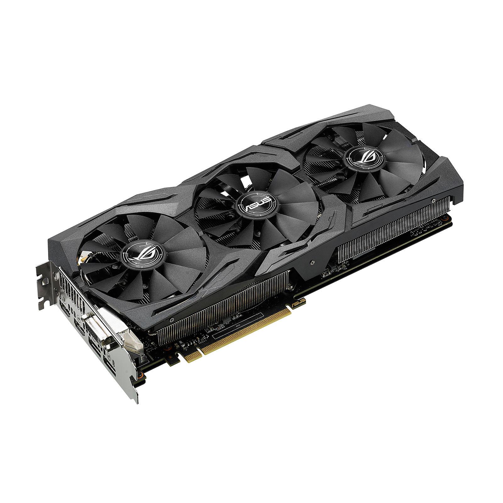 ASUS ROG STRIX-RX480-O8G-GAMING - AMD Radeon RX 480 8 Go