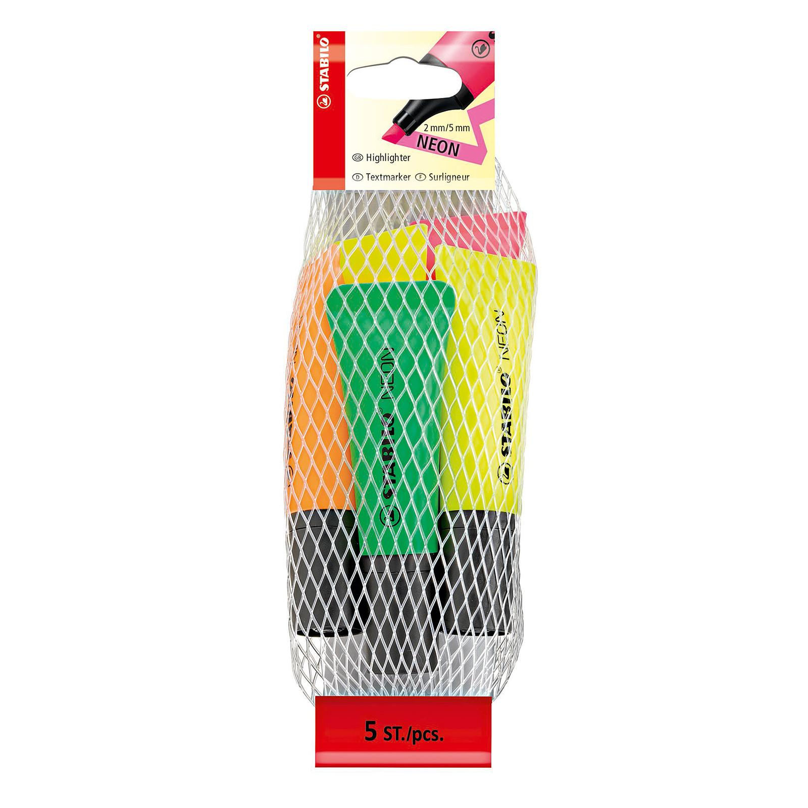 STABILO Neon Filet x5