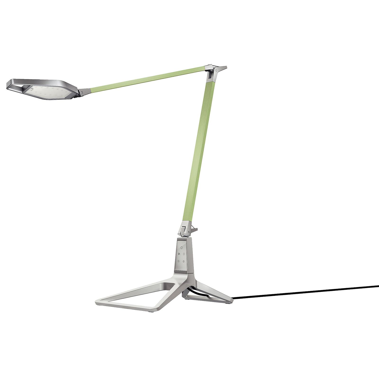Leitz Style Lampe de bureau intelligente LED Verte