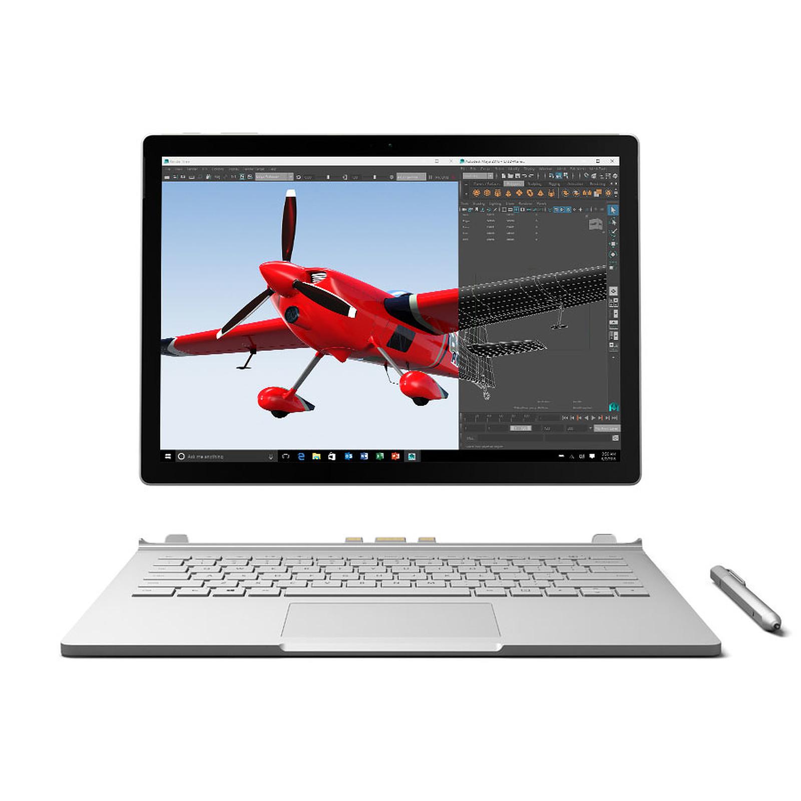 Microsoft Surface Book i7-6600U - 8 Go - 256 Go - GeForce 940M