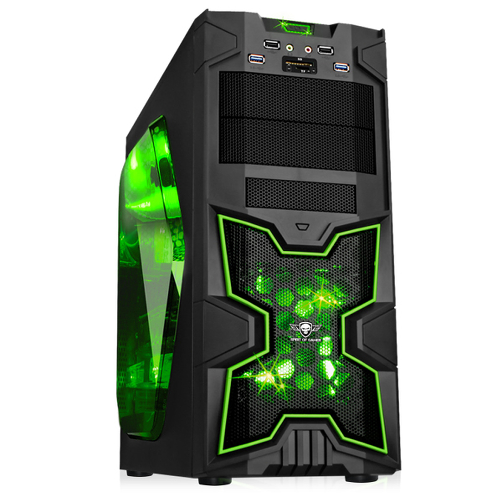 Spirit of Gamer X-Fighters 41 (Verde)