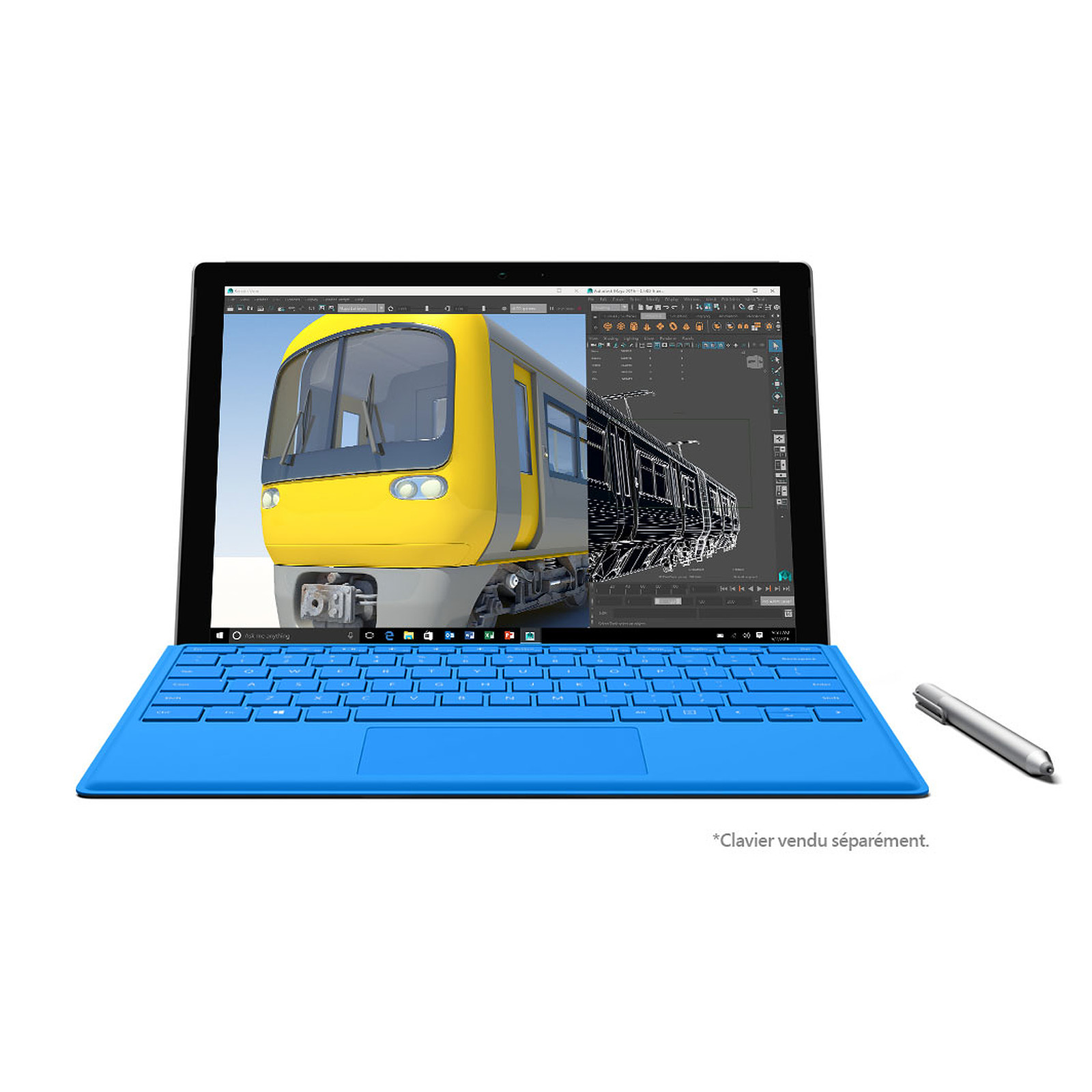 Microsoft Surface Pro 4 - i7-6650U - 16 Go - 512 Go
