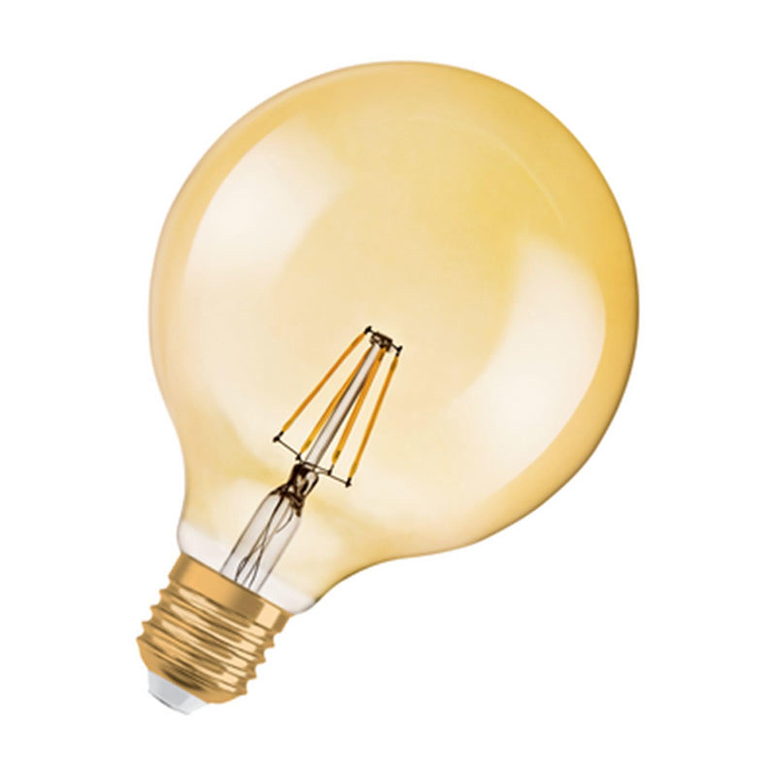 Osram Ampoule Led Retrofit Standard E27 4w 40w A: OSRAM Ampoule LED Globe Vintage E27 4W (35W) A++