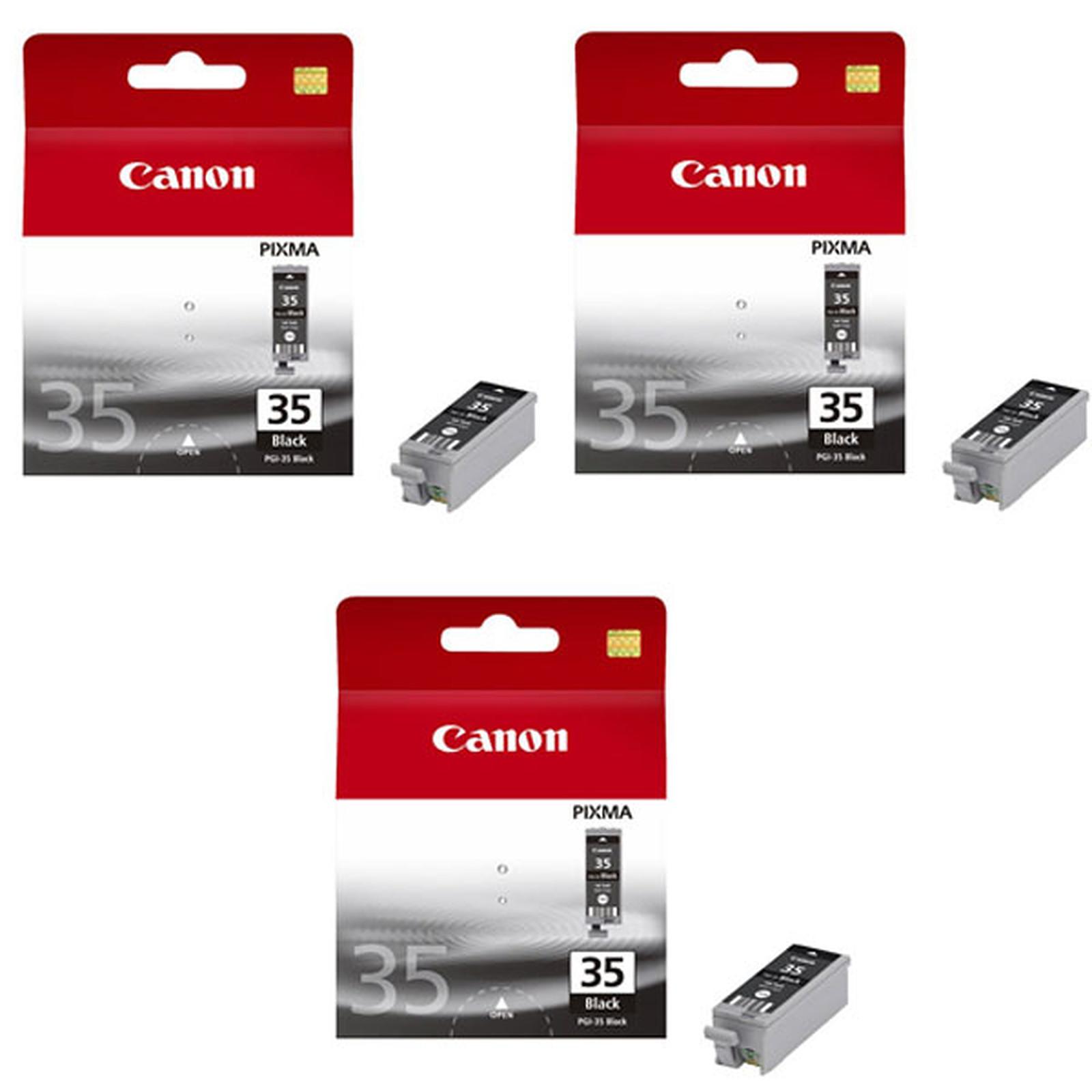 Canon PGI-35BK x 3