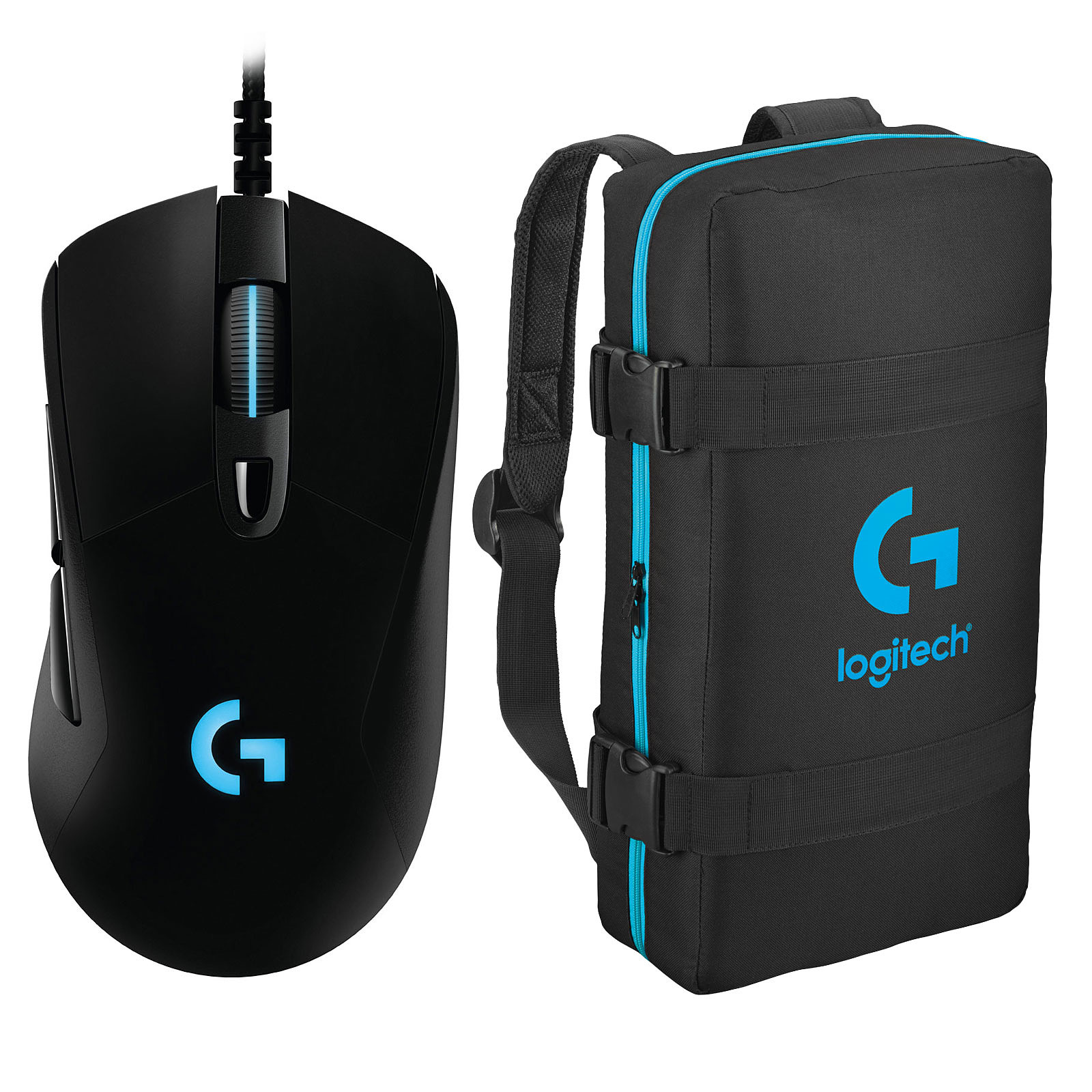 Logitech G403 Prodigy Wired Gaming Mouse + eSport Bag OFFERT !