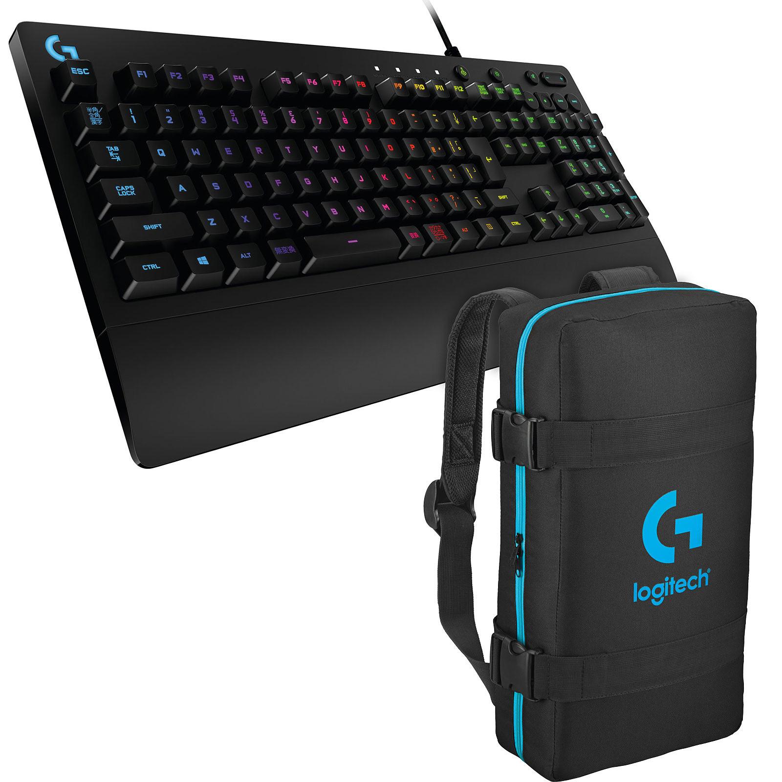 Logitech G213 Prodigy Gaming Keyboard + eSport Bag OFFERT !