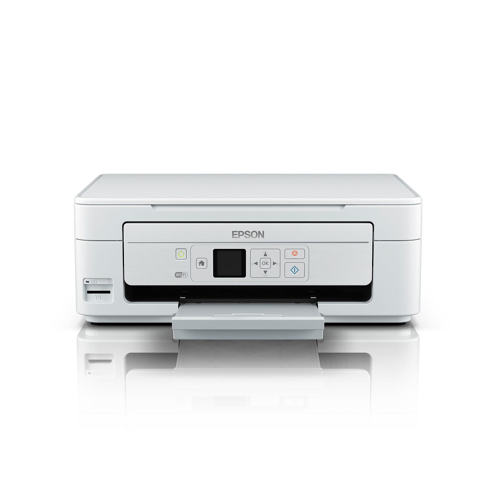 epson expression home xp 345 blanc imprimante multifonction epson sur. Black Bedroom Furniture Sets. Home Design Ideas