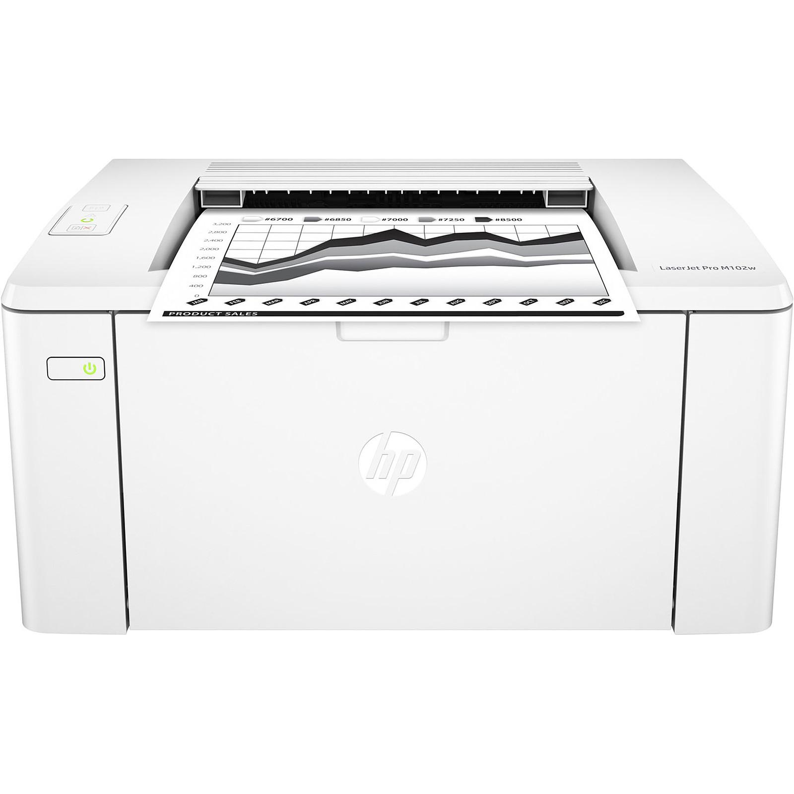 402d41ca54adb HP LaserJet Pro M102w Imprimante laser monochrome (USB 2.0   Wifi) ...