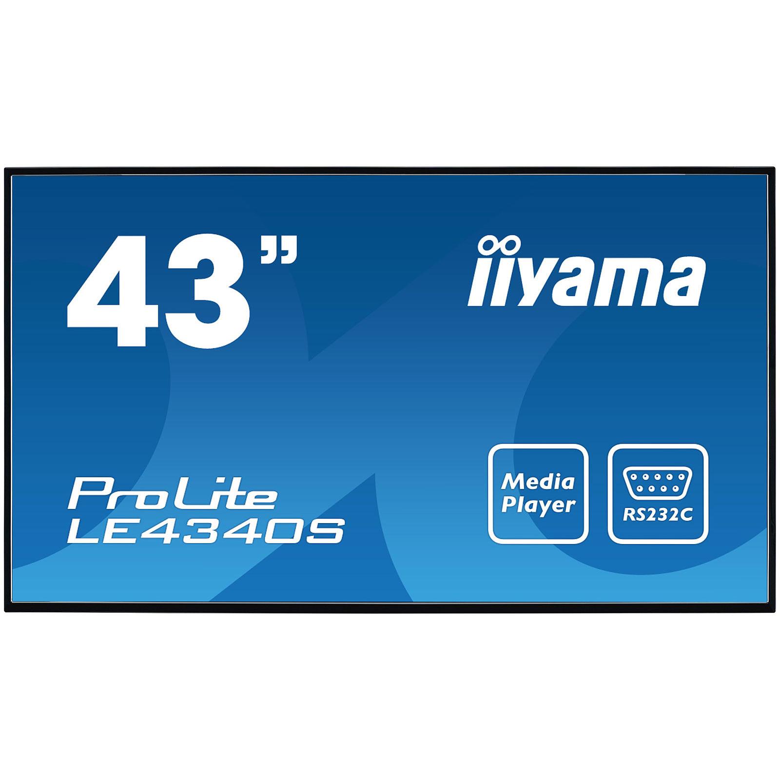 "iiyama 43"" LED - Prolite LE4340S-B1"