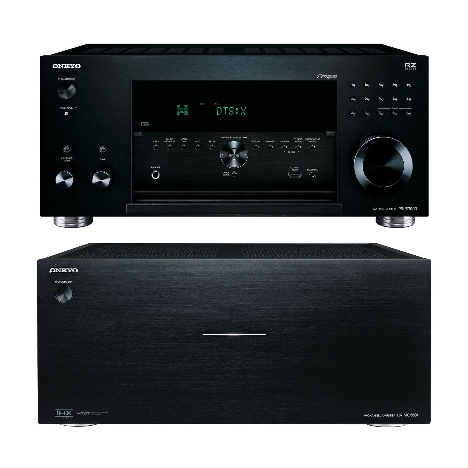 Onkyo PR-RZ5100 + PA-MC5501