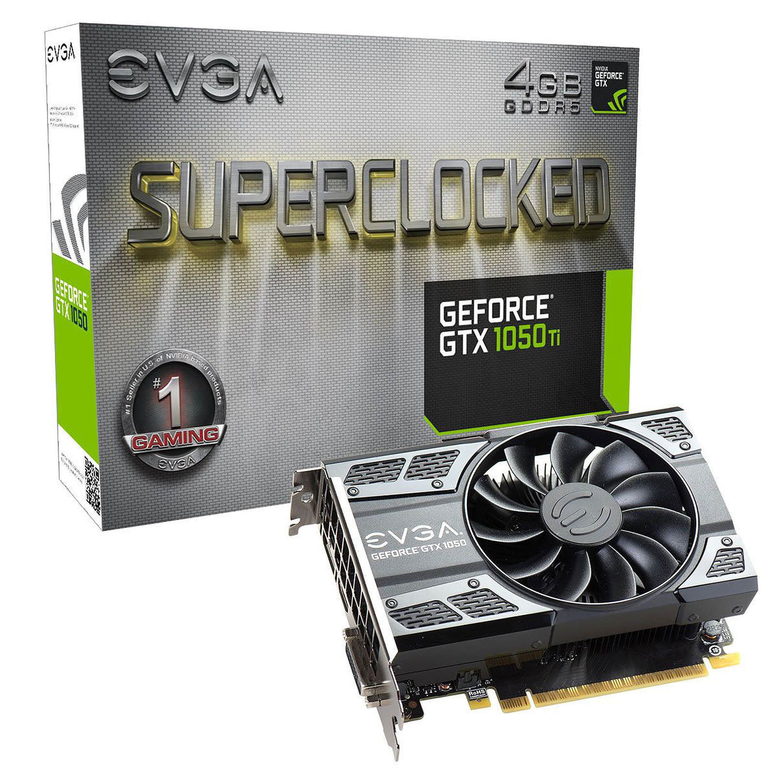 EVGA GeForce GTX 1050 Ti SC GAMING 4G