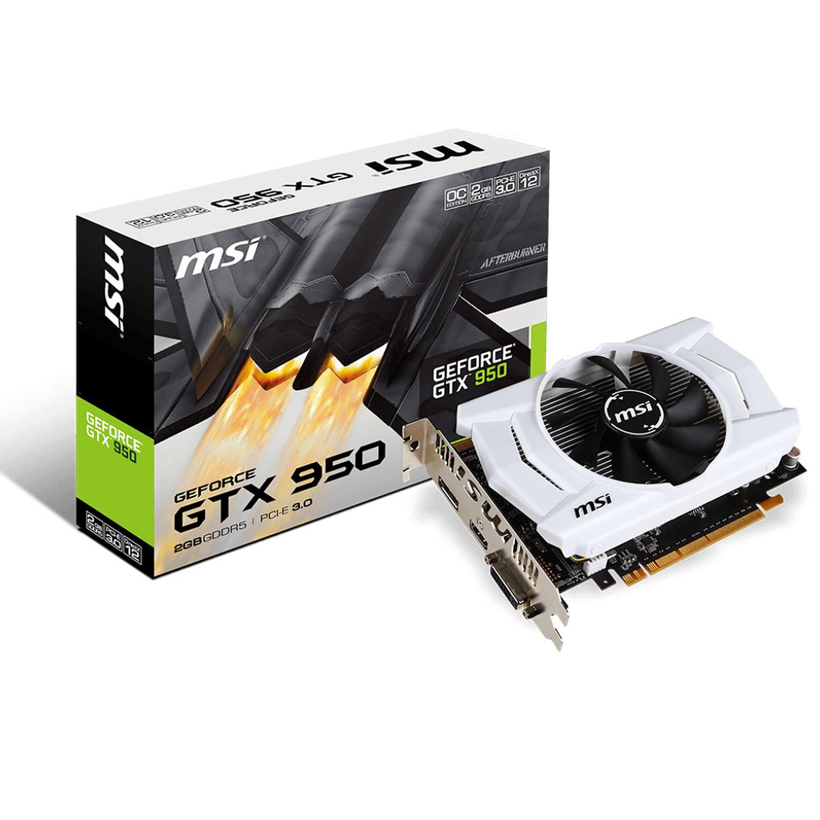 MSI GeForce GTX 950 2GD5 OCV2