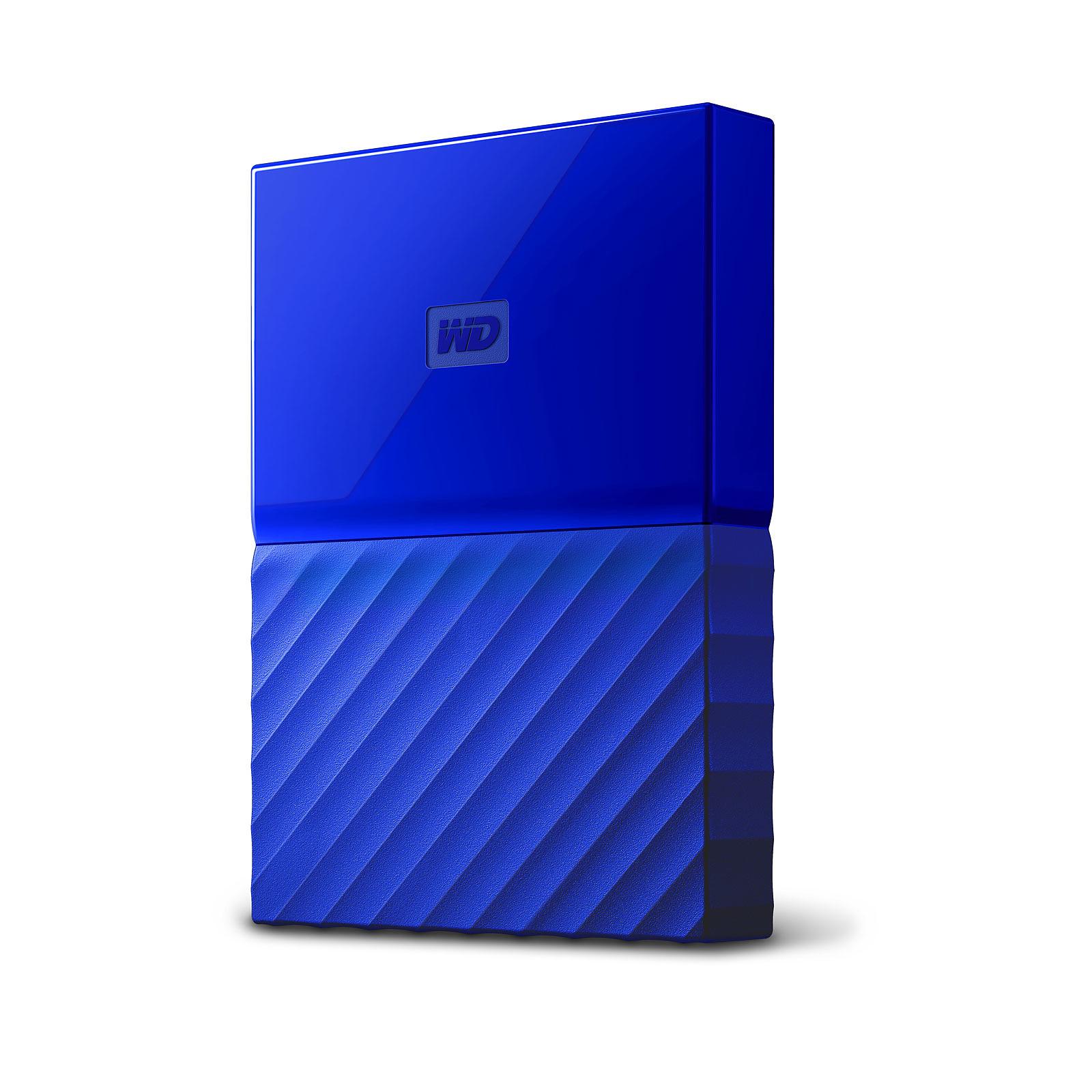 WD My Passport Thin 2 To Bleu (USB 3.0)