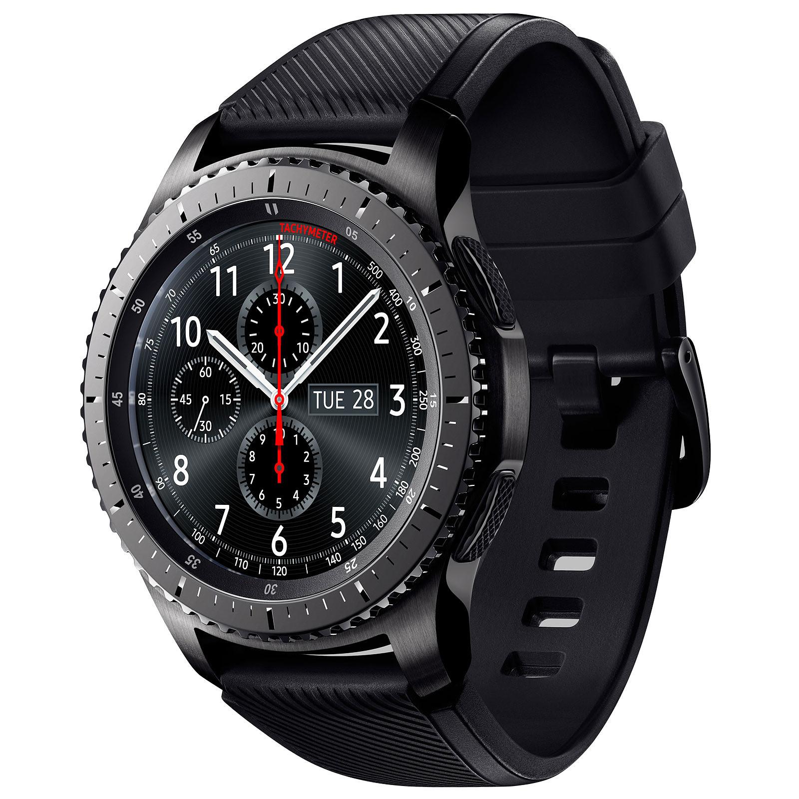 Samsung Gear S3 Frontier Noir