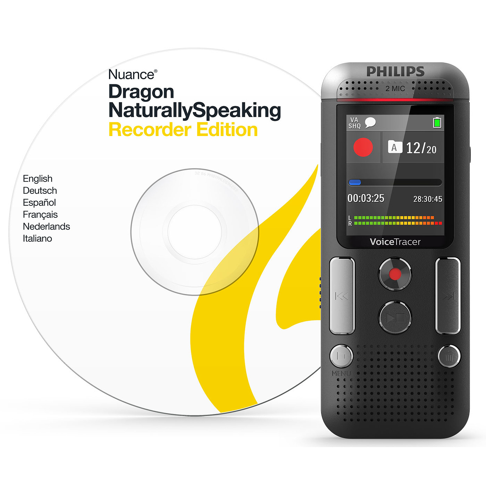 Philips Dvt2710 Dragon Naturally Speaking Dictaphone Philips Sur