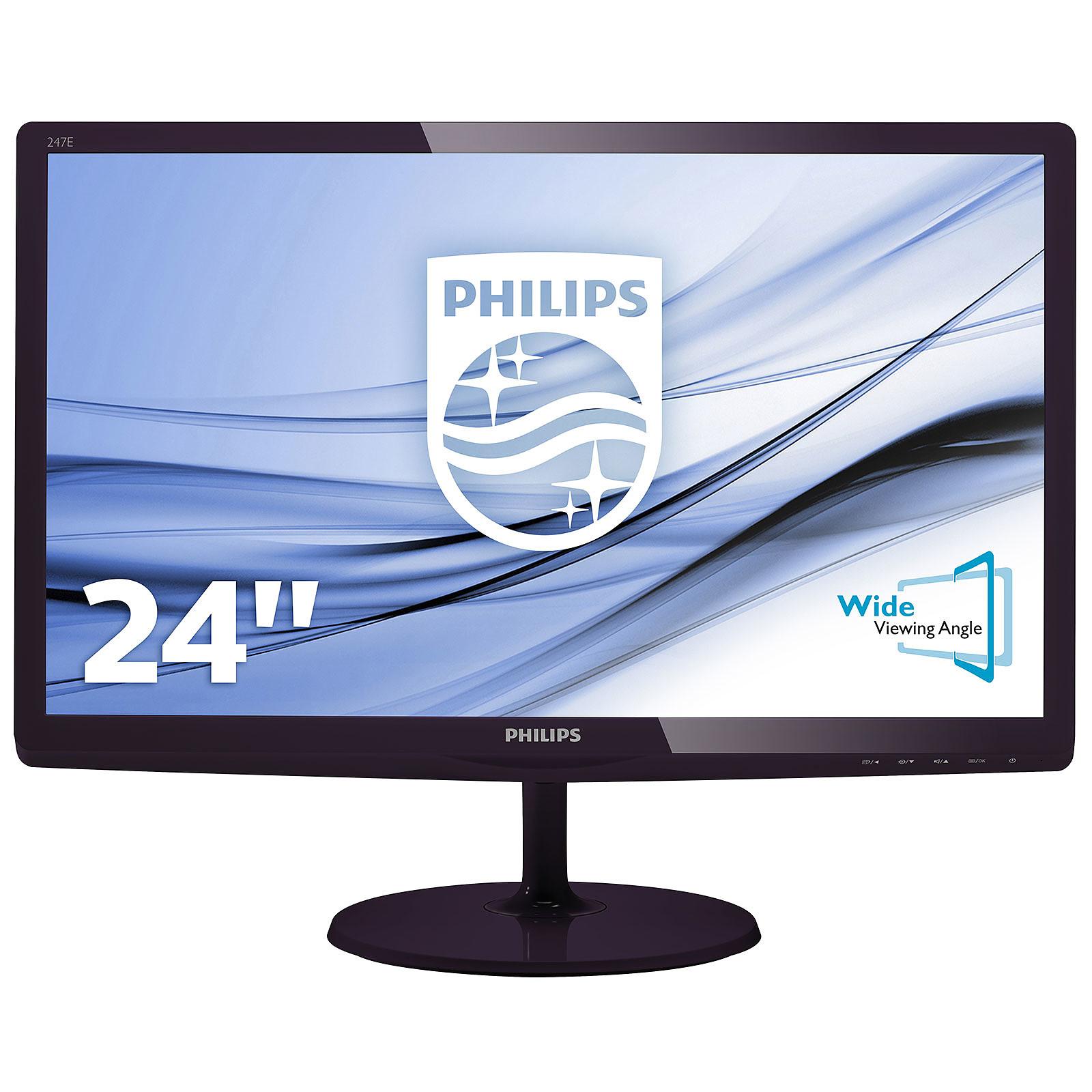 "Philips 23.6"" LED - 247E6QDAD"