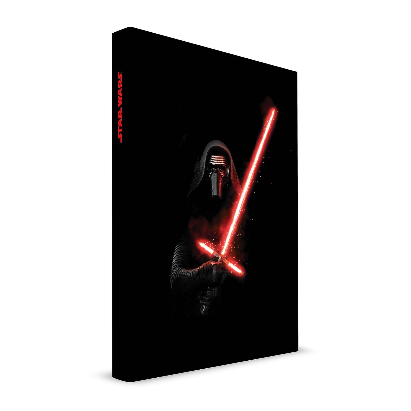 Cuaderno de notas Star Wars Episodio VII cuaderno de sonido y luz Kylo Ren