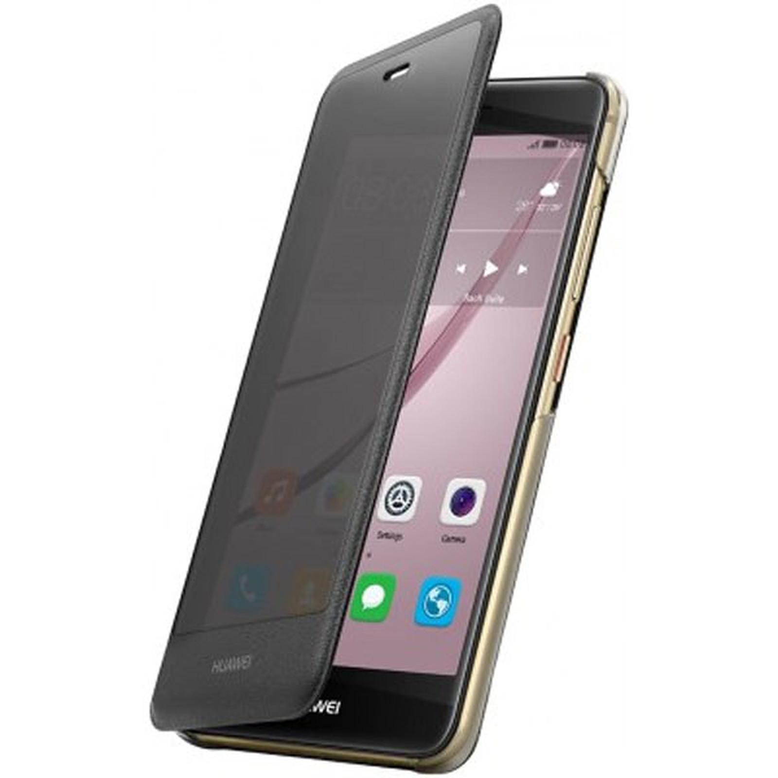 Huawei Window Flip Case Noir Huawei Nova