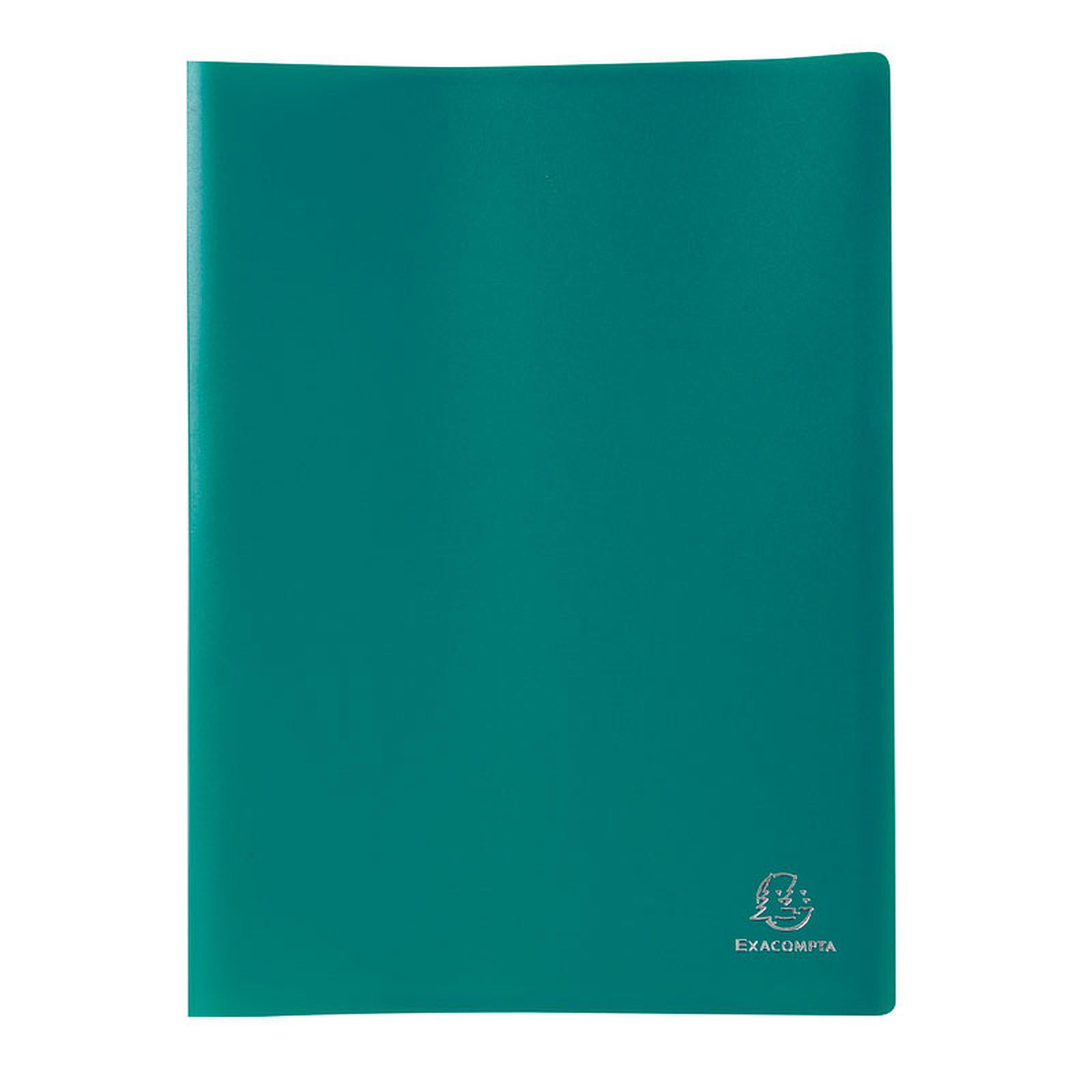 Exacompta Protège-documents A4 160 vues Vert foncé