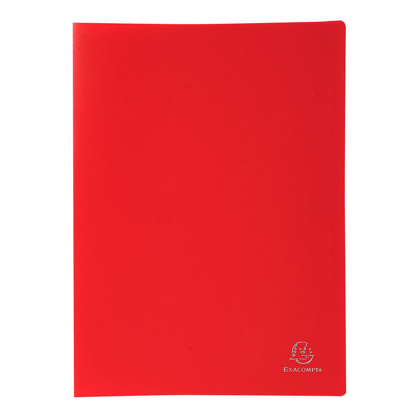 Exacompta Protège-documents A4 200 vues Rouge