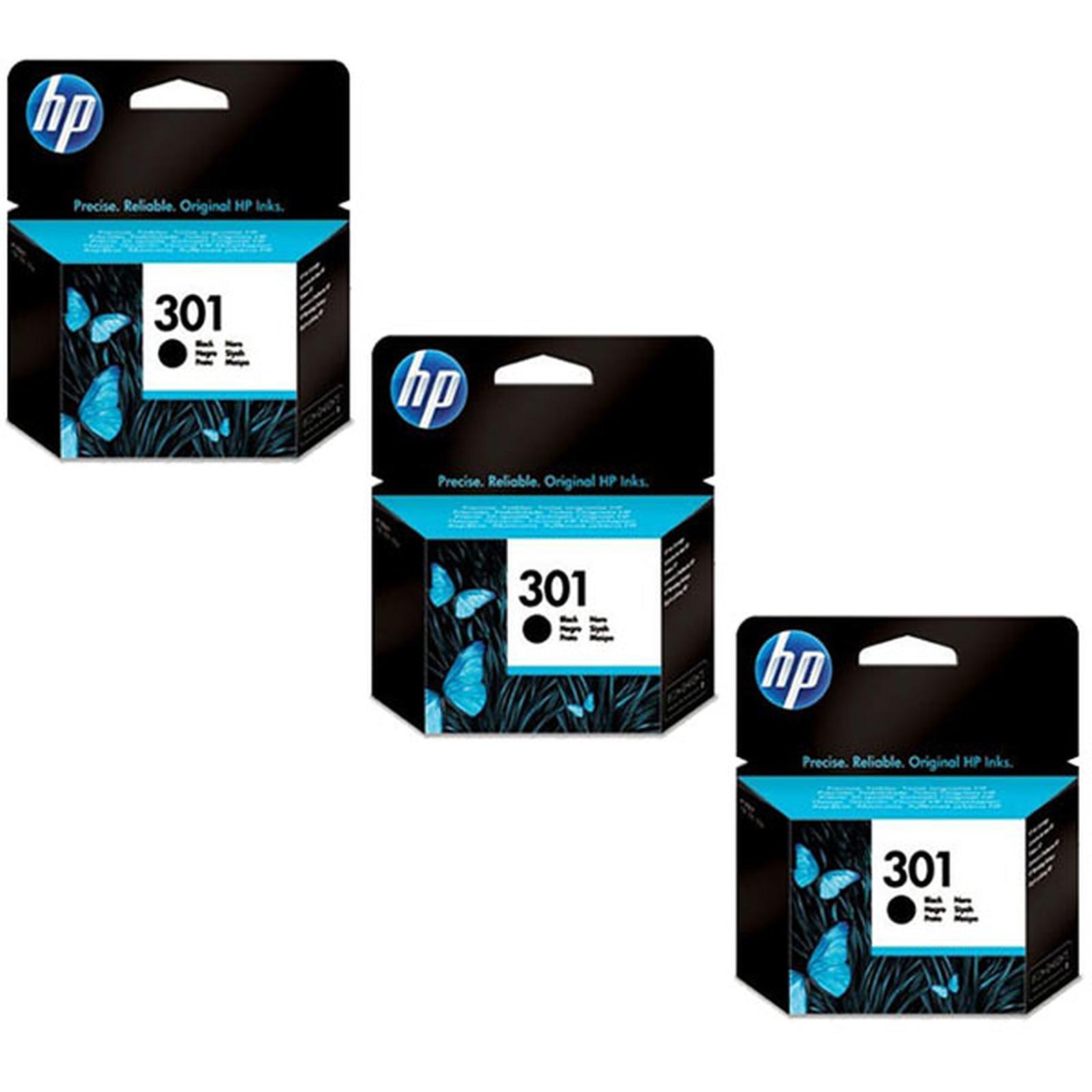 HP 301 Negro - CH561EE x 3