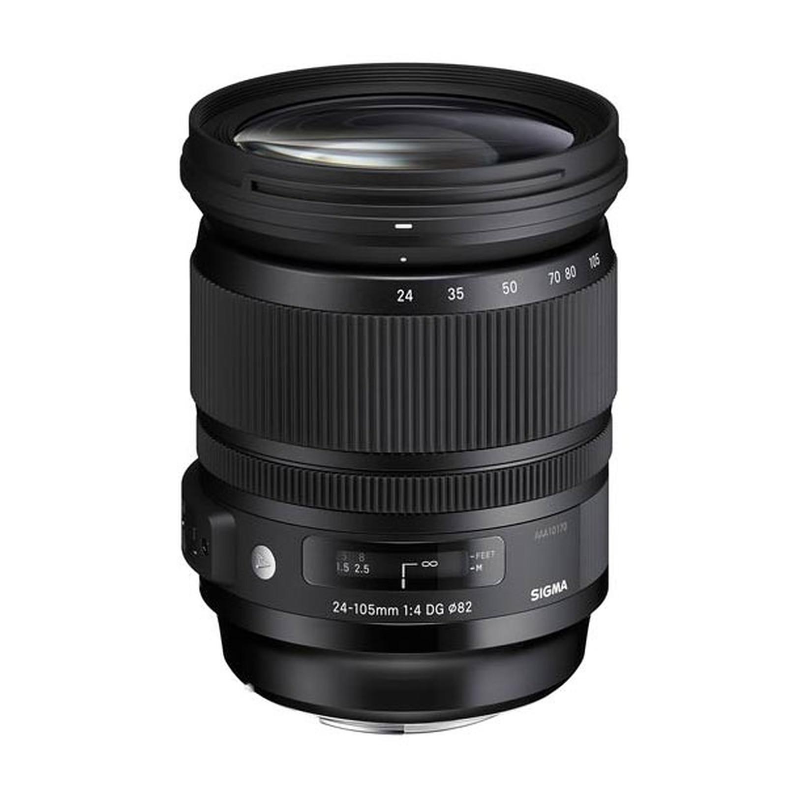 SIGMA 24-105 mm F4 DG OS HSM monture Canon