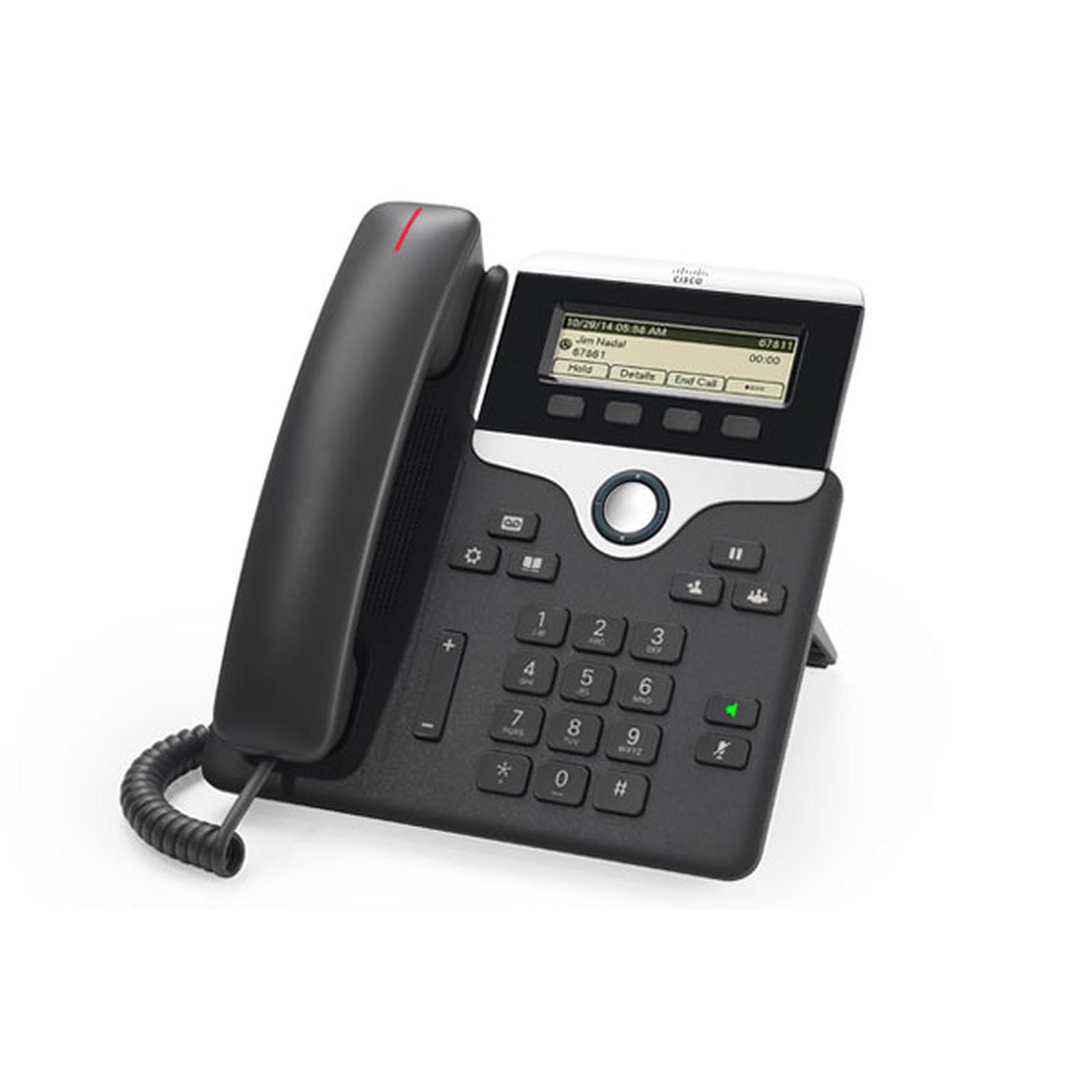 Cisco IP Phone 7811 avec micrologiciel de téléphone multiplateforme