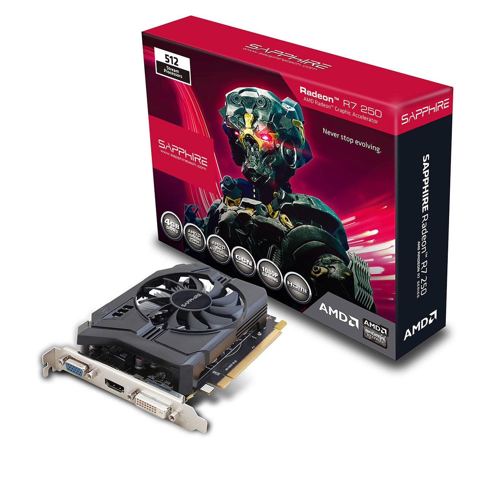 Sapphire Radeon R7 250 4G DDR3