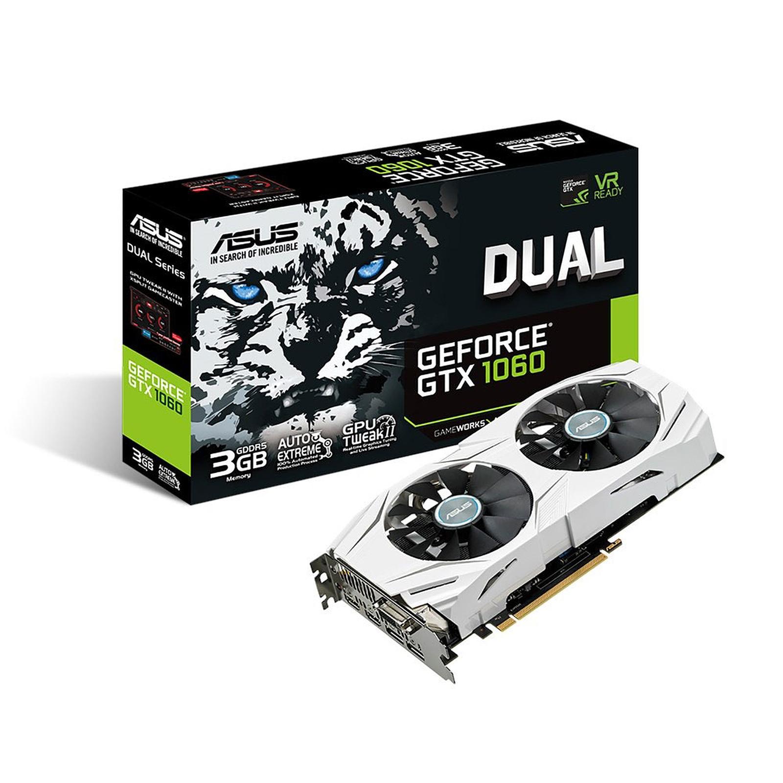 ASUS GeForce GTX 1060 Edition DUAL-GTX1060-3G