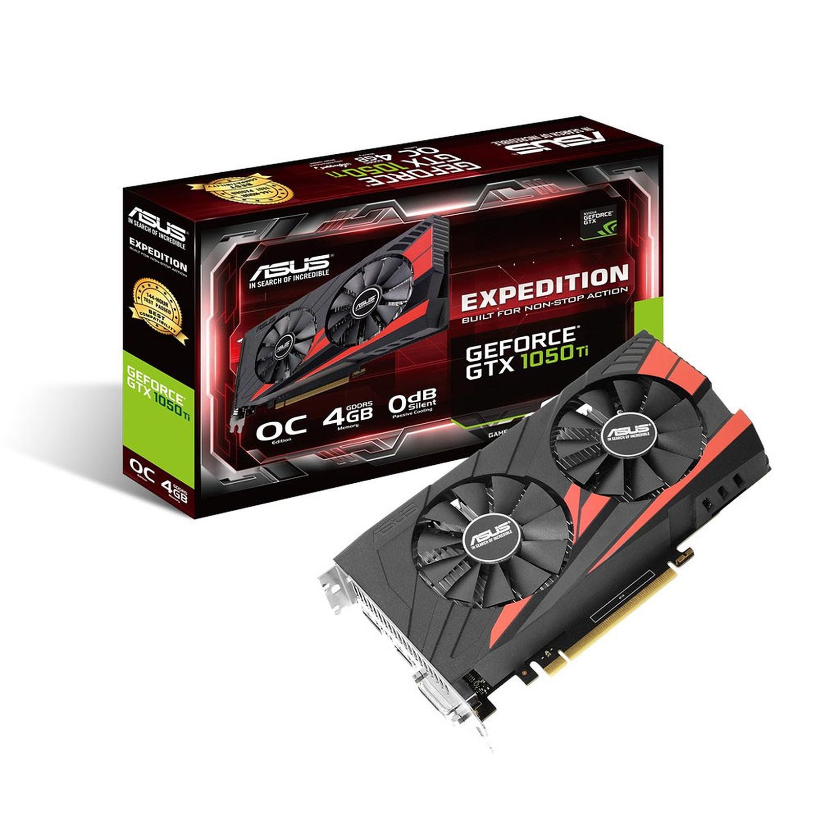 ASUS GeForce GTX 1050 Ti OC EX-GTX1050TI-O4G
