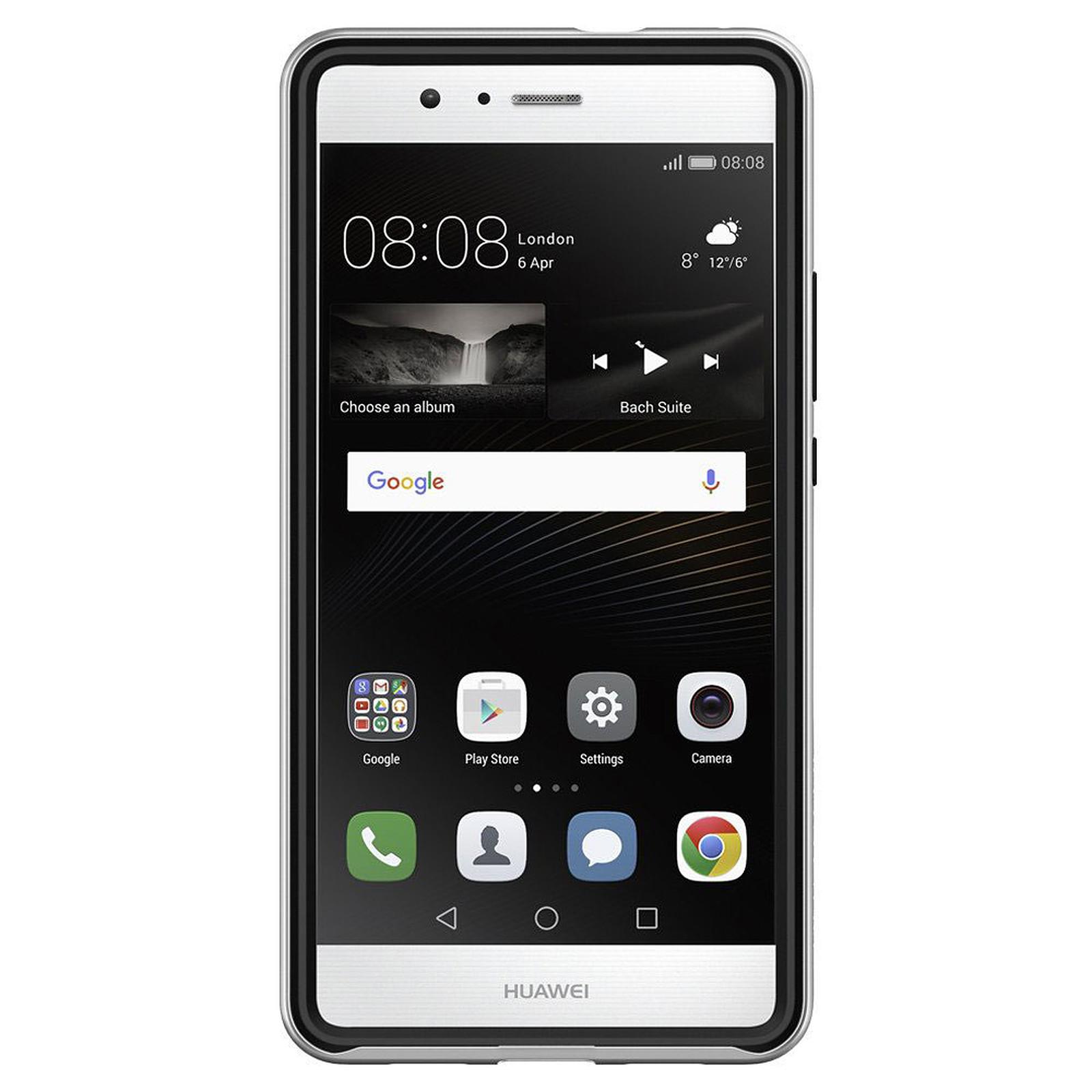 Spigen Case Neo Hybrid Satin Silver Huawei P9 Lite - Coque ...
