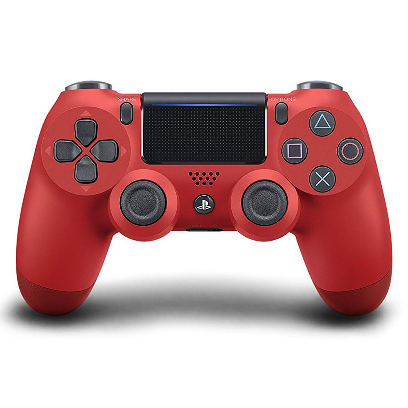 Sony DualShock 4 v2 (rojo)