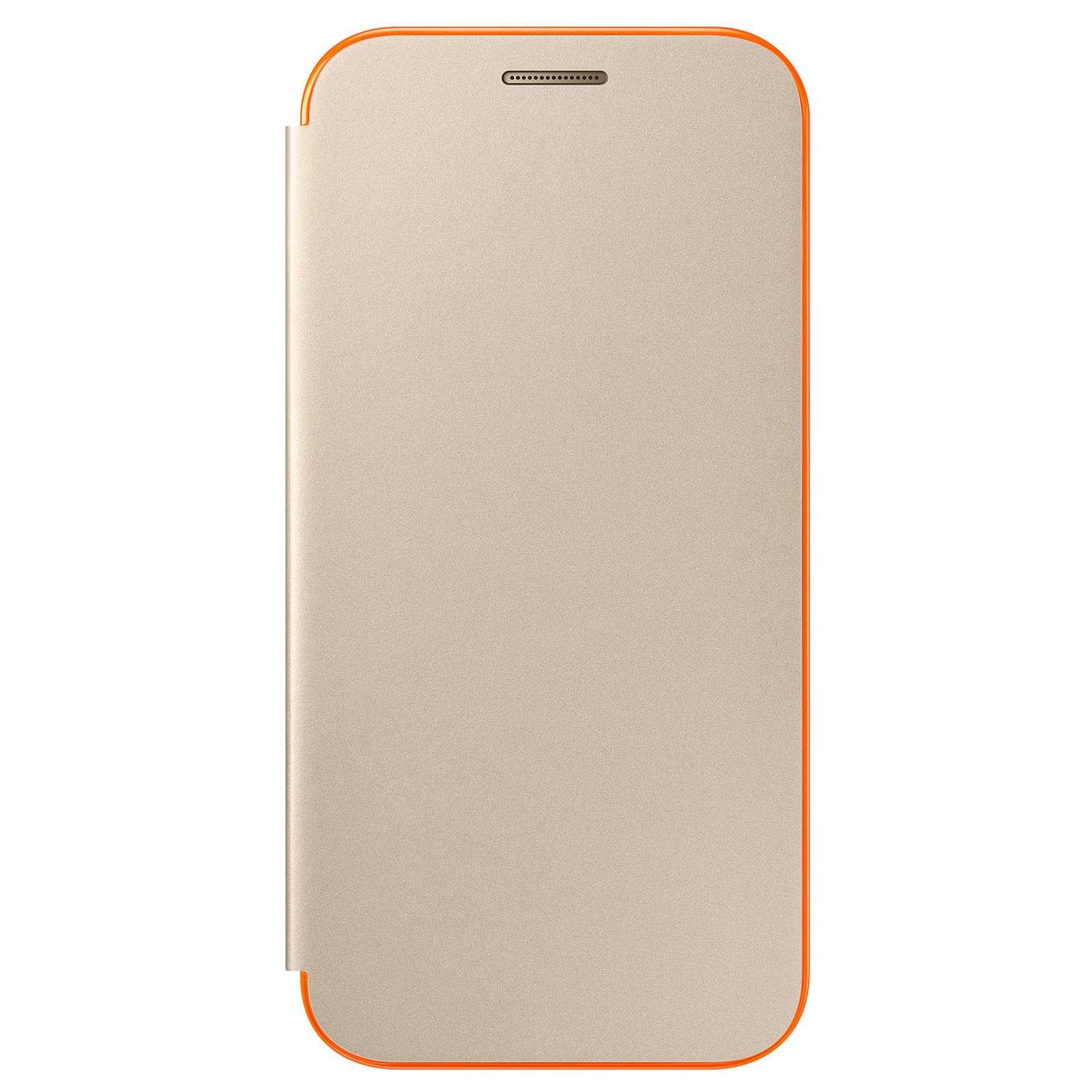 Samsung Flip Cover Neon Or Samsung Galaxy A3 2017