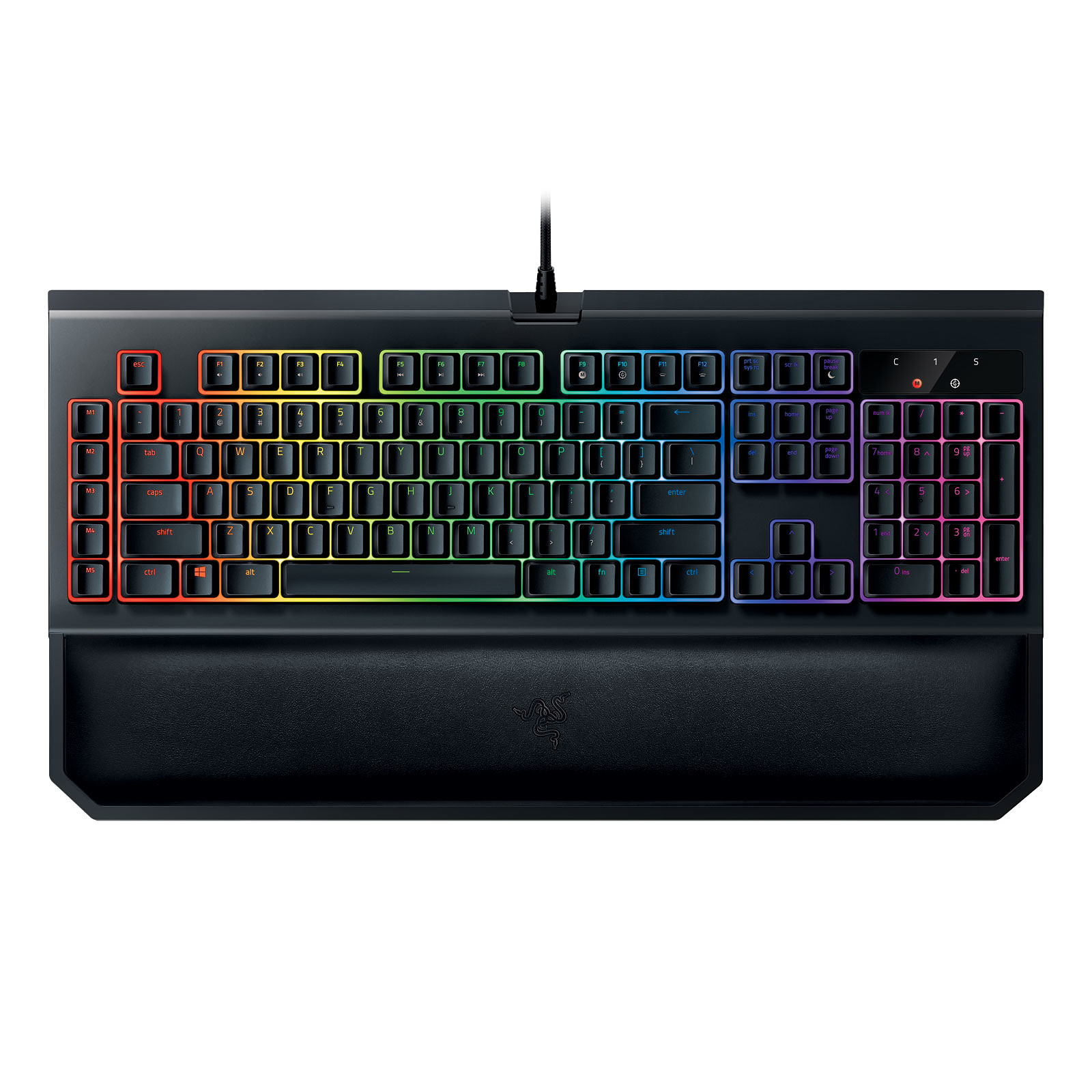 Razer BlackWidow Chroma v2 (switches Razer Orange)