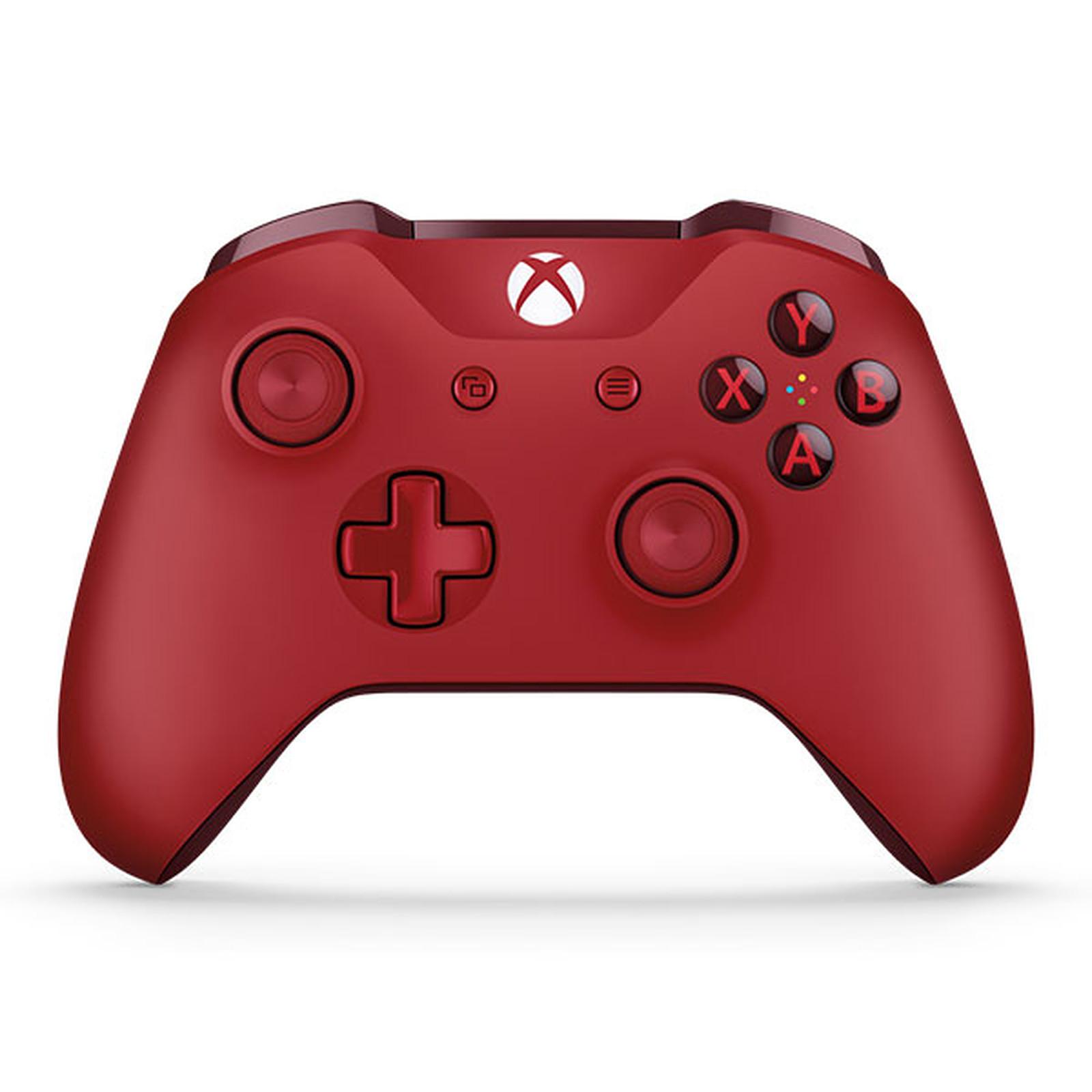 Microsoft Xbox One Wireless Controller Rojo